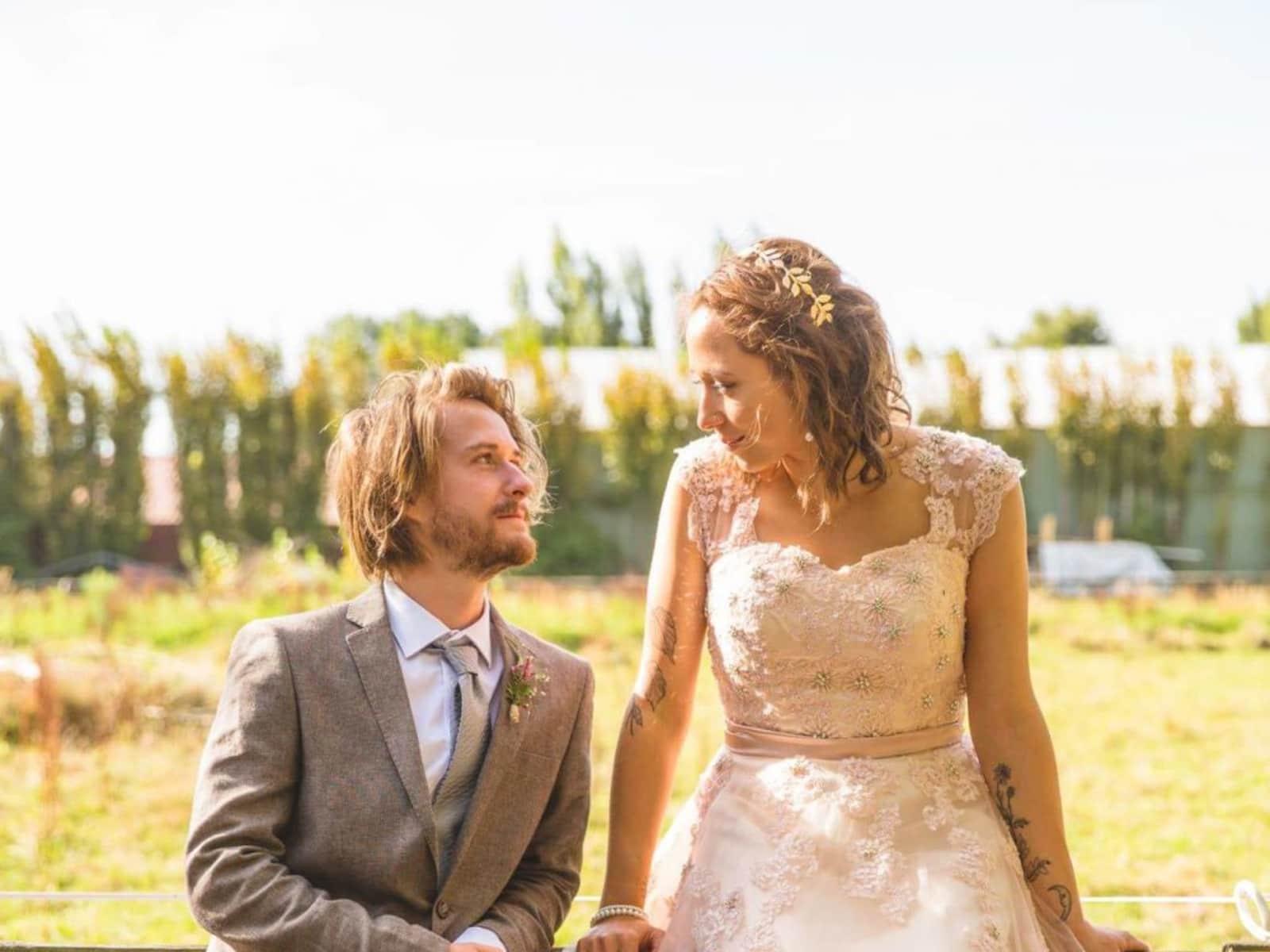 Daria & Glen from Rakaia, New Zealand