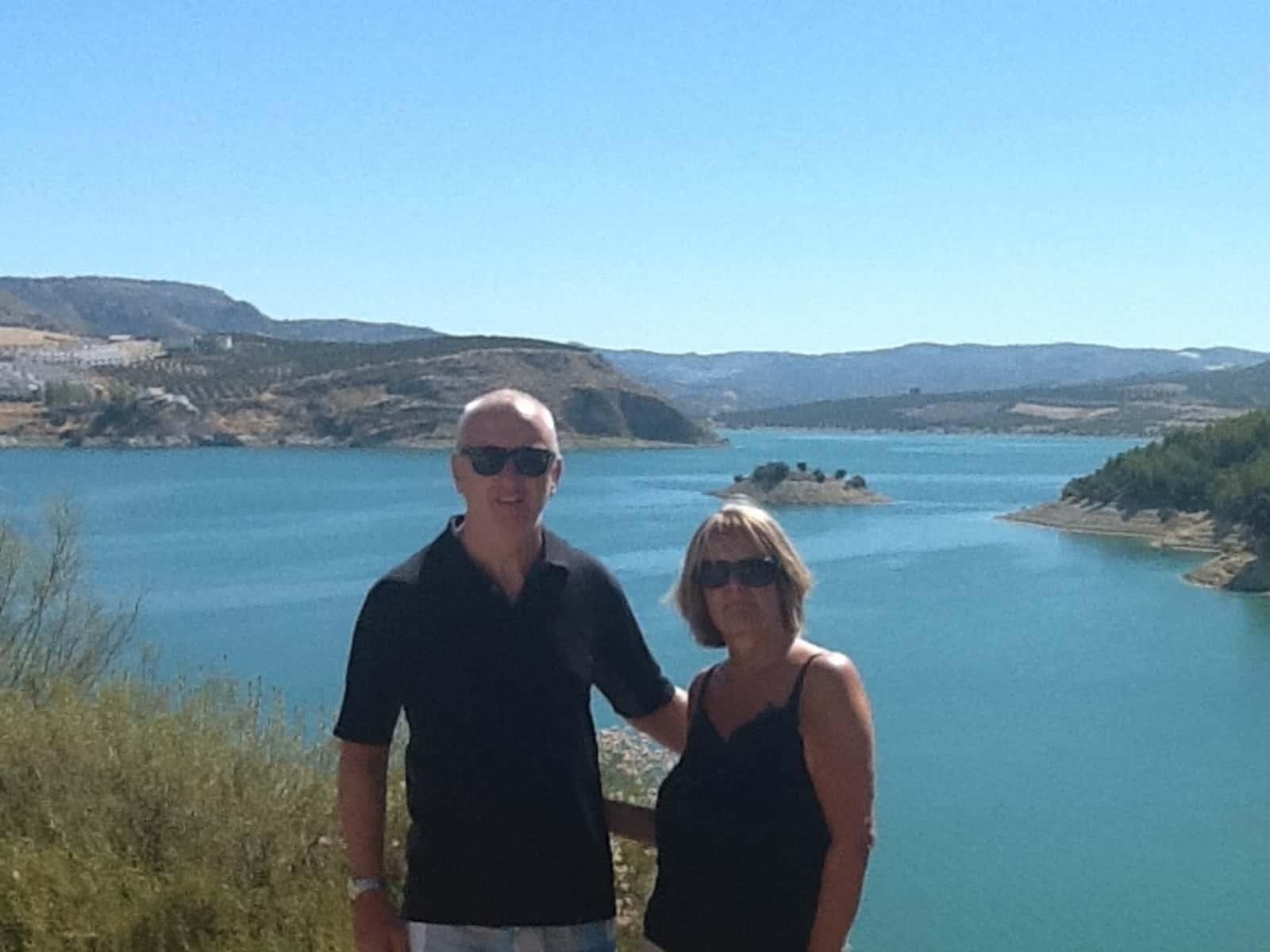 Linda & Mark from Bristol, United Kingdom