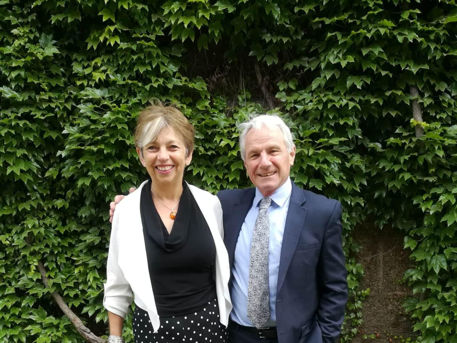 Carol & Colin from Dorchester, United Kingdom