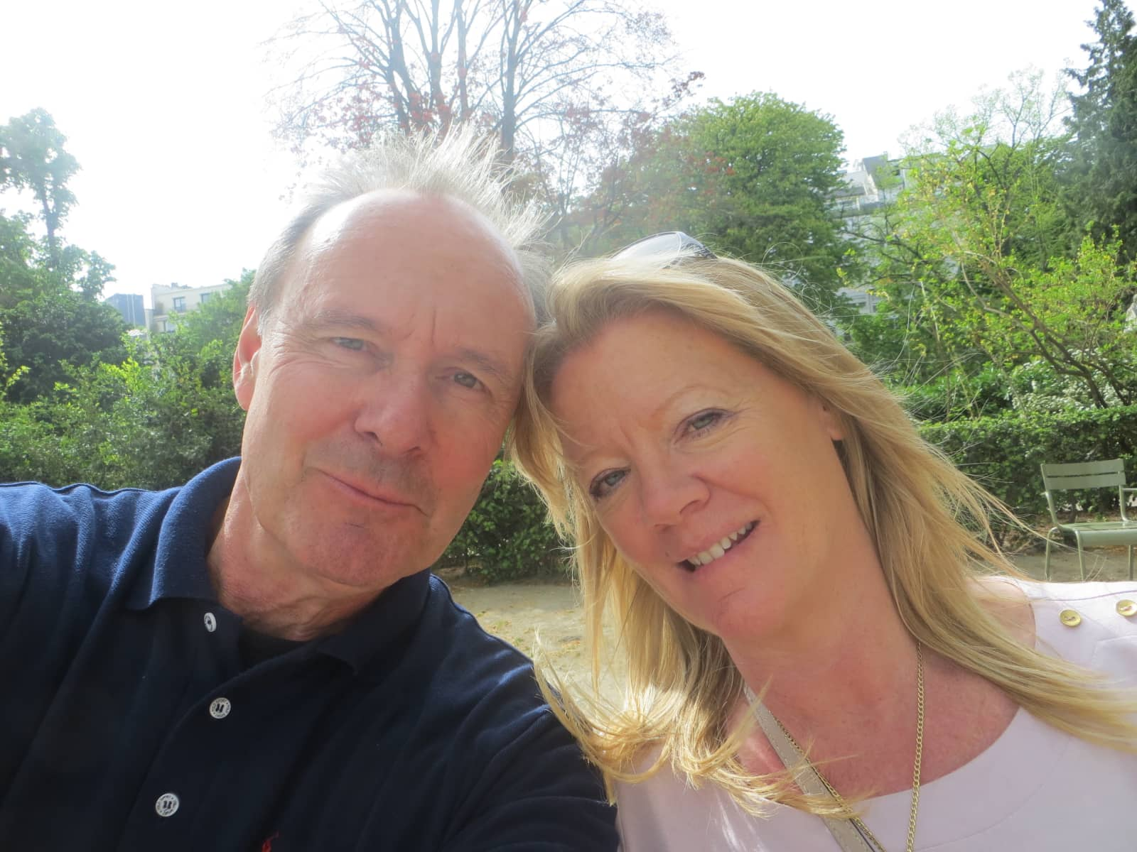 Simon & Deirdre from London, United Kingdom