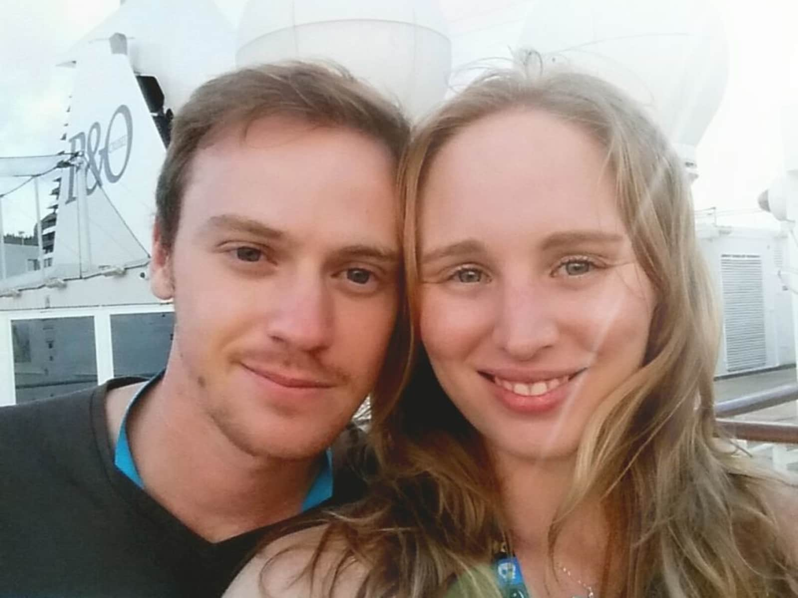 Jessica & Will from Canberra, Australian Capital Territory, Australia
