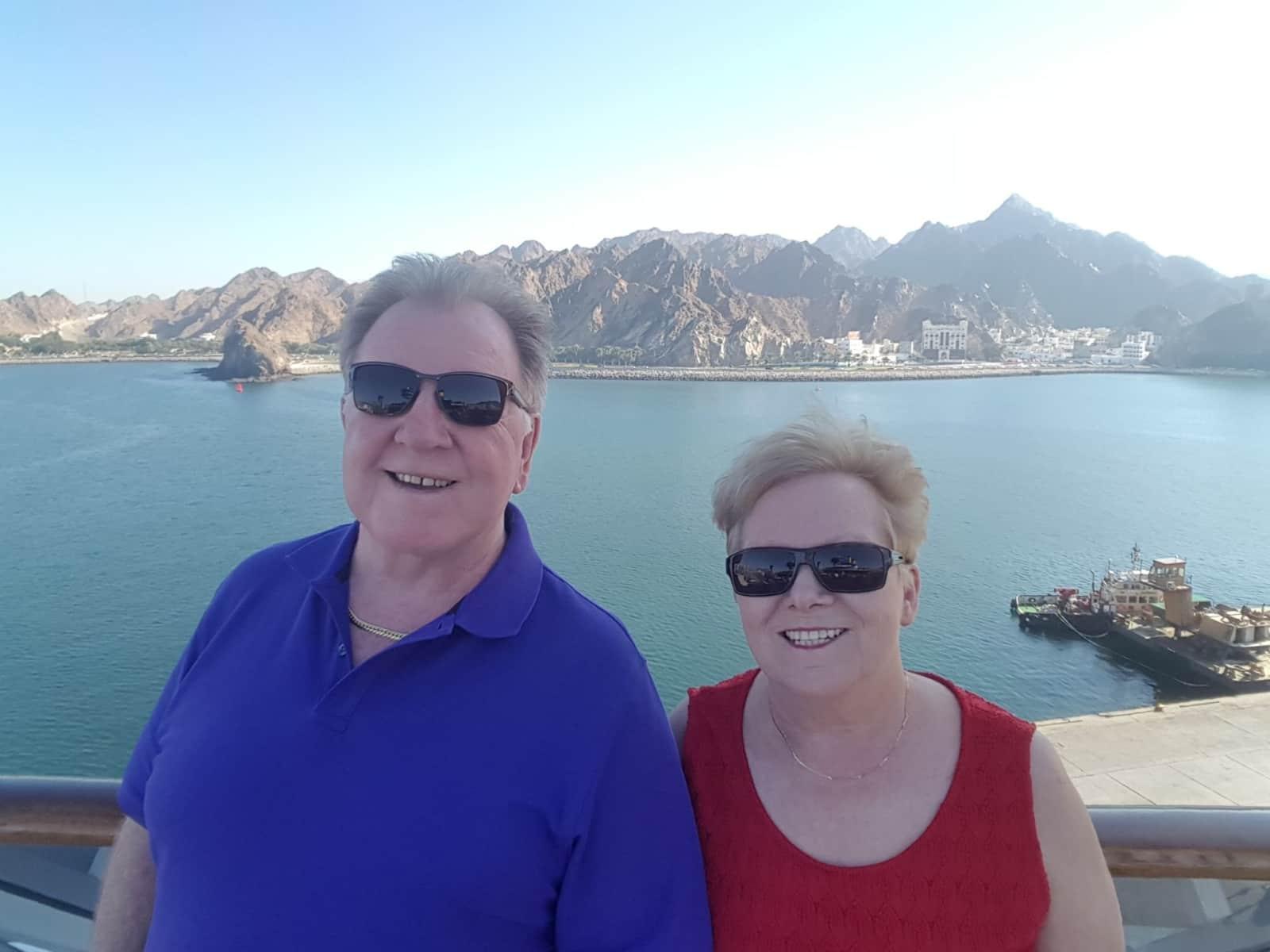 Jan & Robert from Canterbury, United Kingdom
