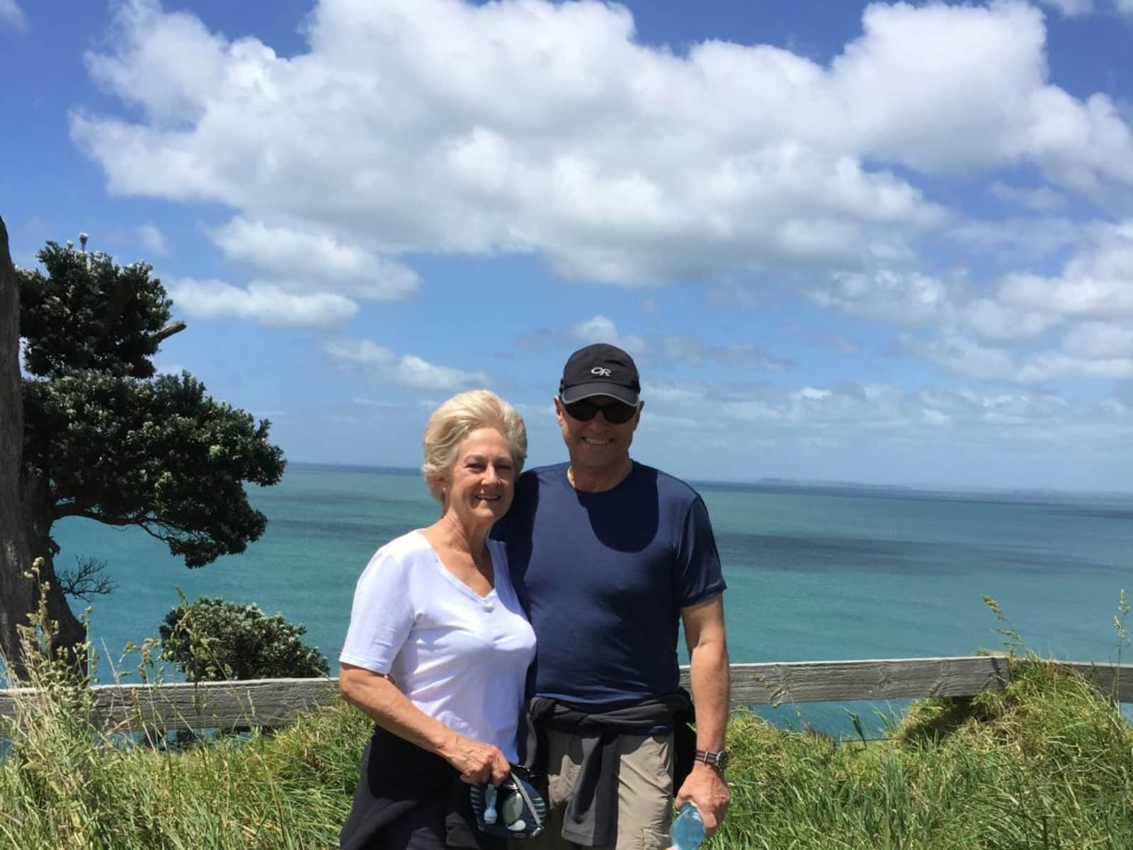 Paula & Peter from Auckland, New Zealand
