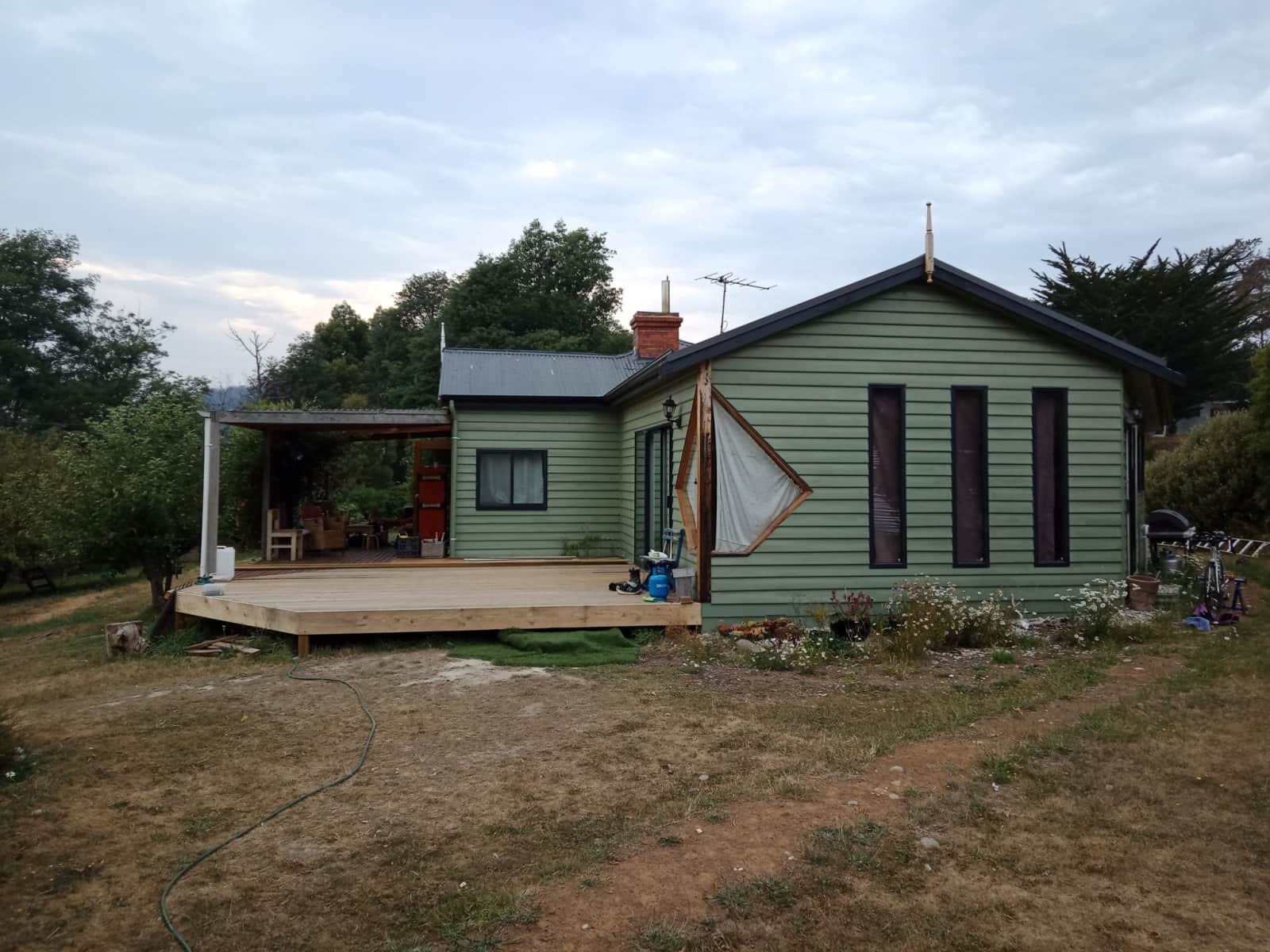 Housesitting assignment in Allens Rivulet, Tasmania, Australia