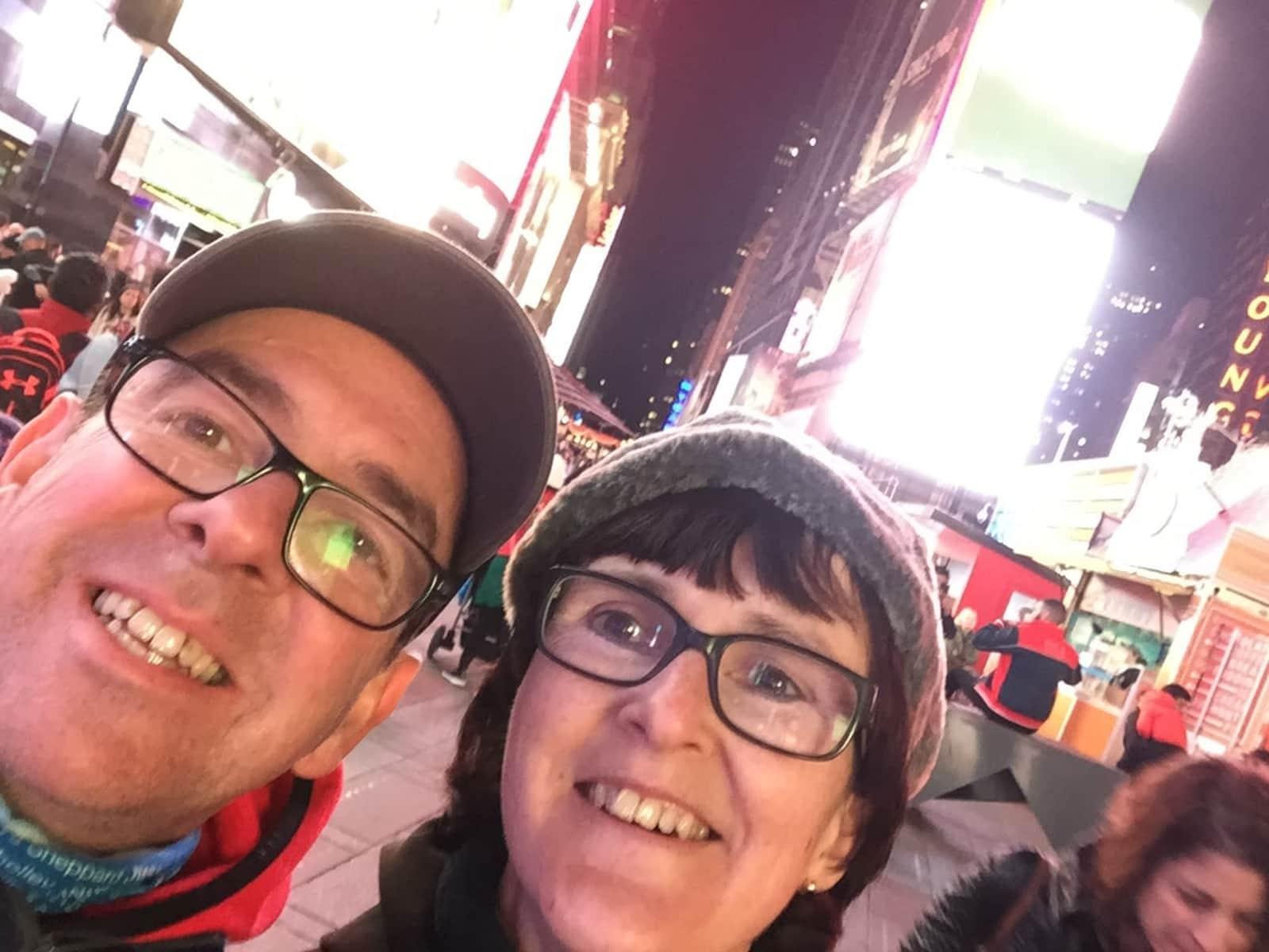 Deborah & Andrew from Clitheroe, United Kingdom