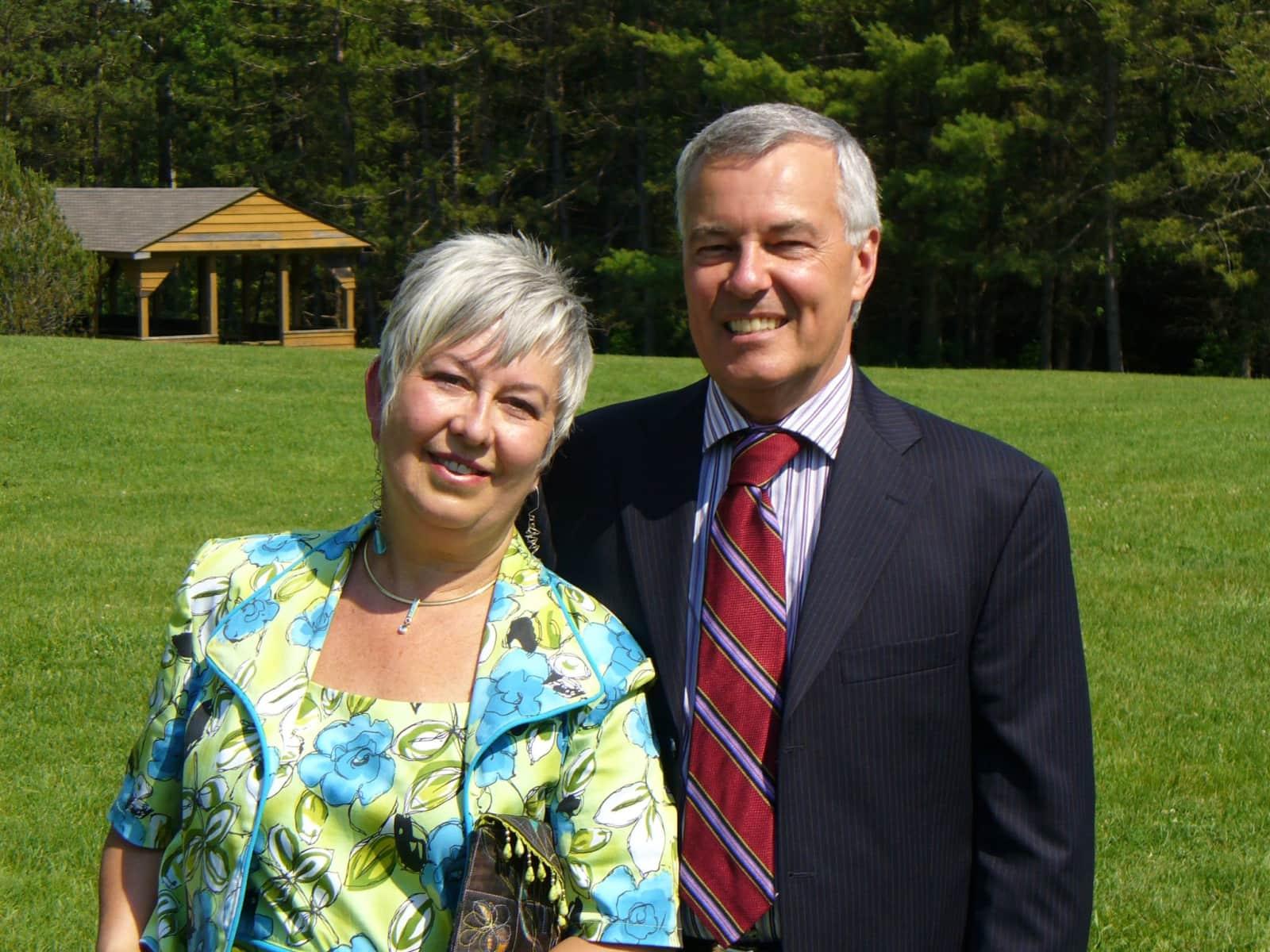 Steve & Marilyn from Orillia, Ontario, Canada