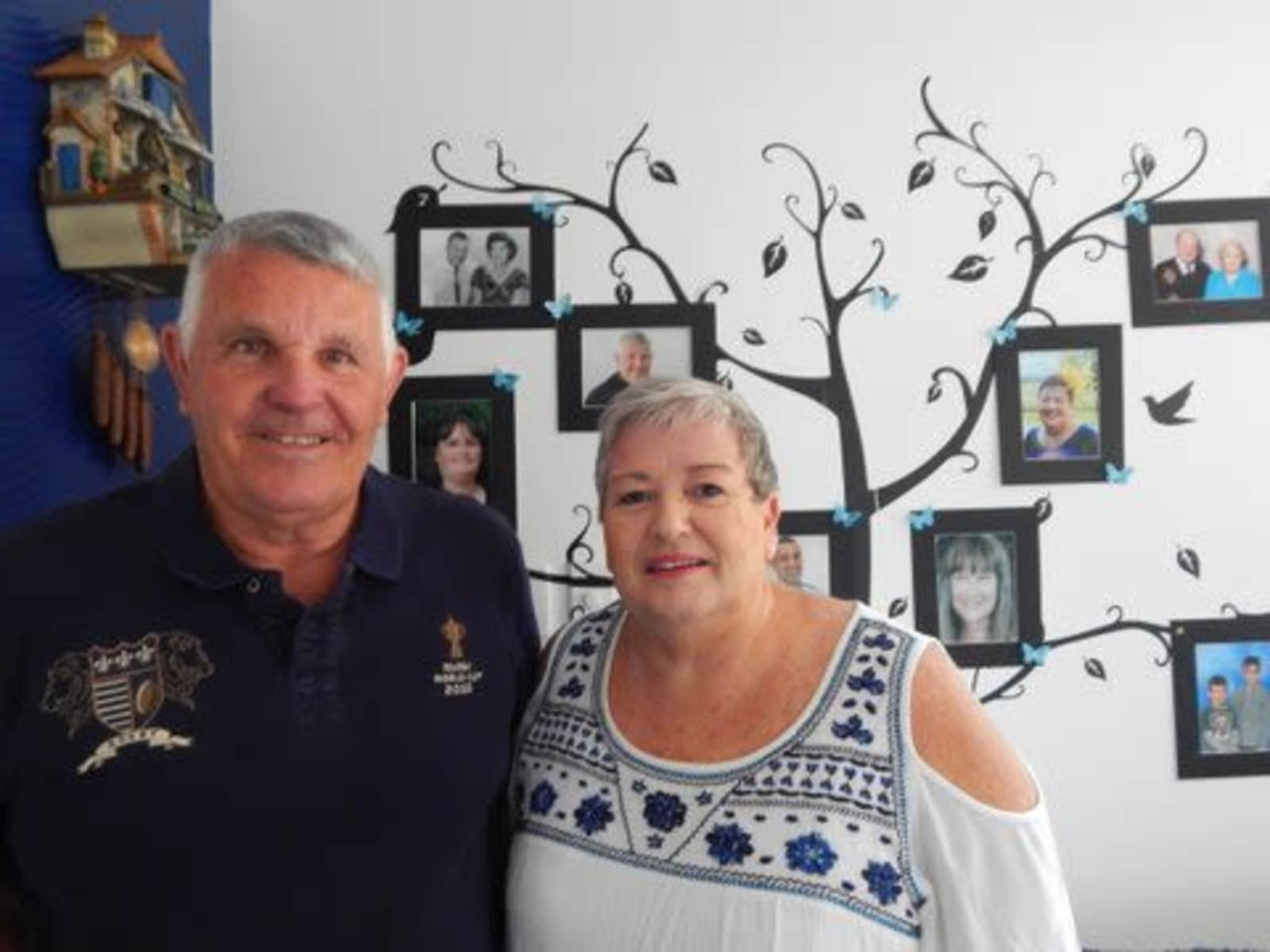 Wendy & Michael from Russell Island, Queensland, Australia