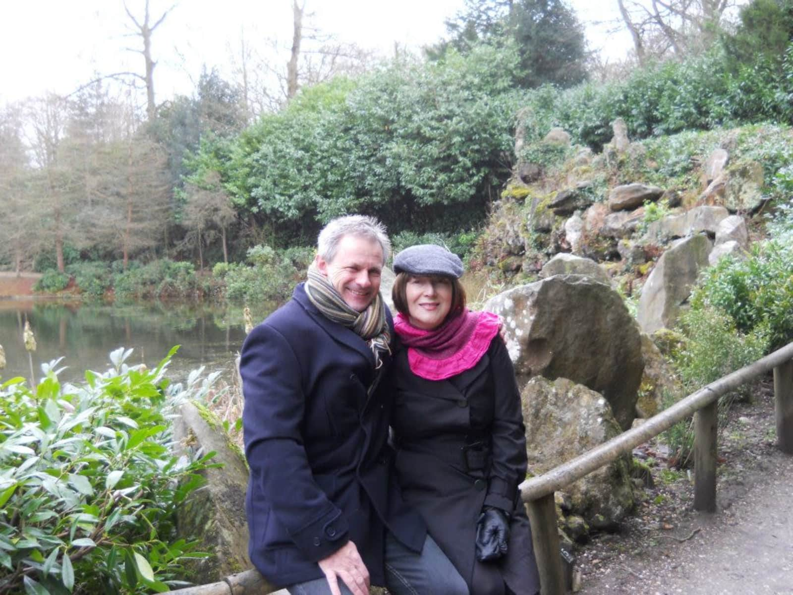 Janet & Andrew from Woking, United Kingdom
