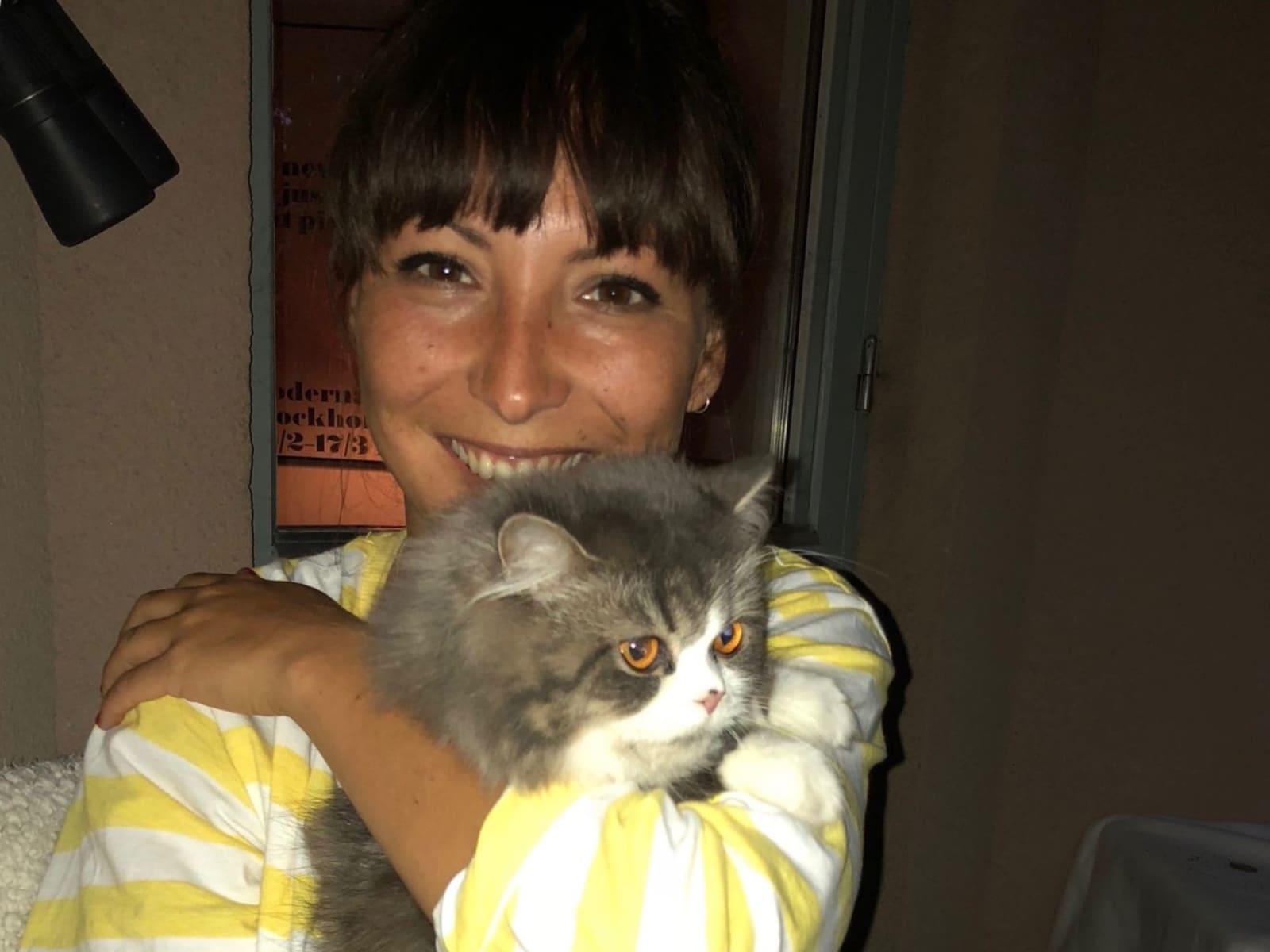 Sandra from Örebro, Sweden