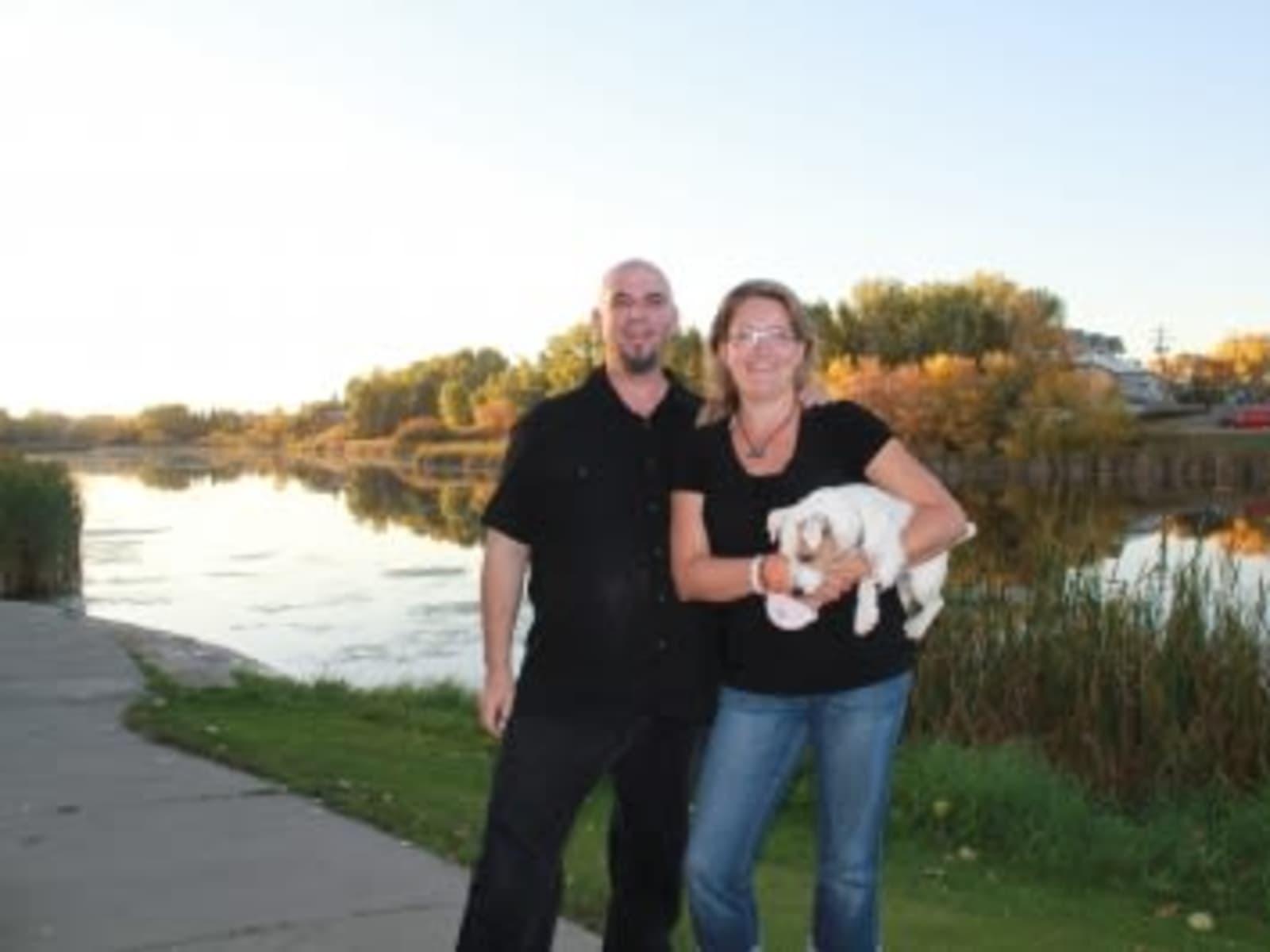 Barbara & Shawn from Calgary, Alberta, Canada