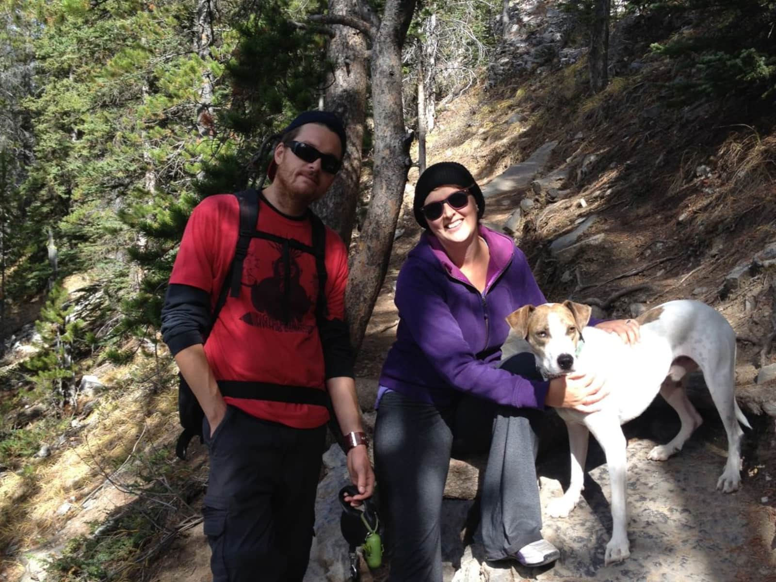 Lisa & Mitch from Calgary, Alberta, Canada