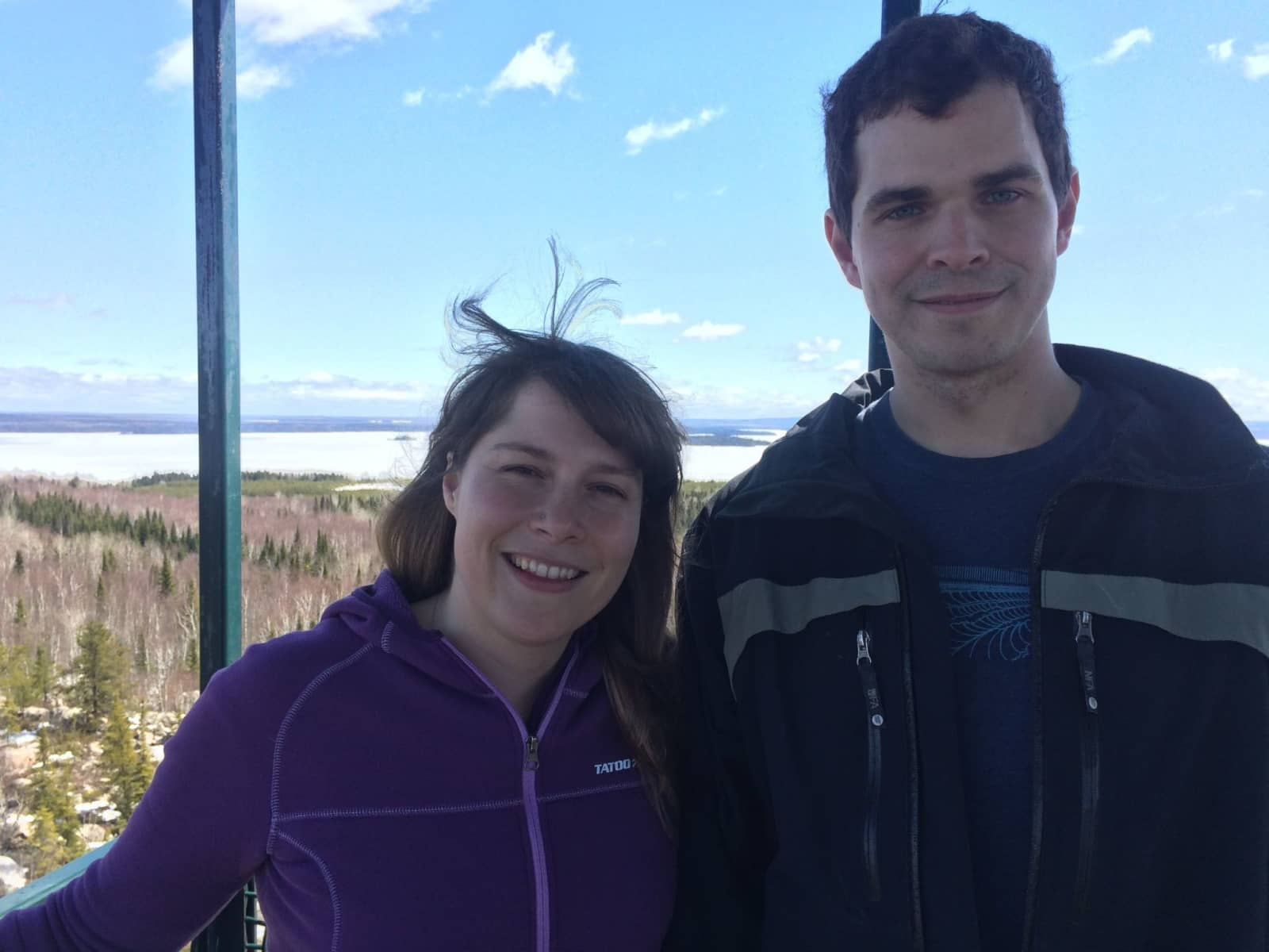 Joannie & Francis from Val-d'Or, Quebec, Canada
