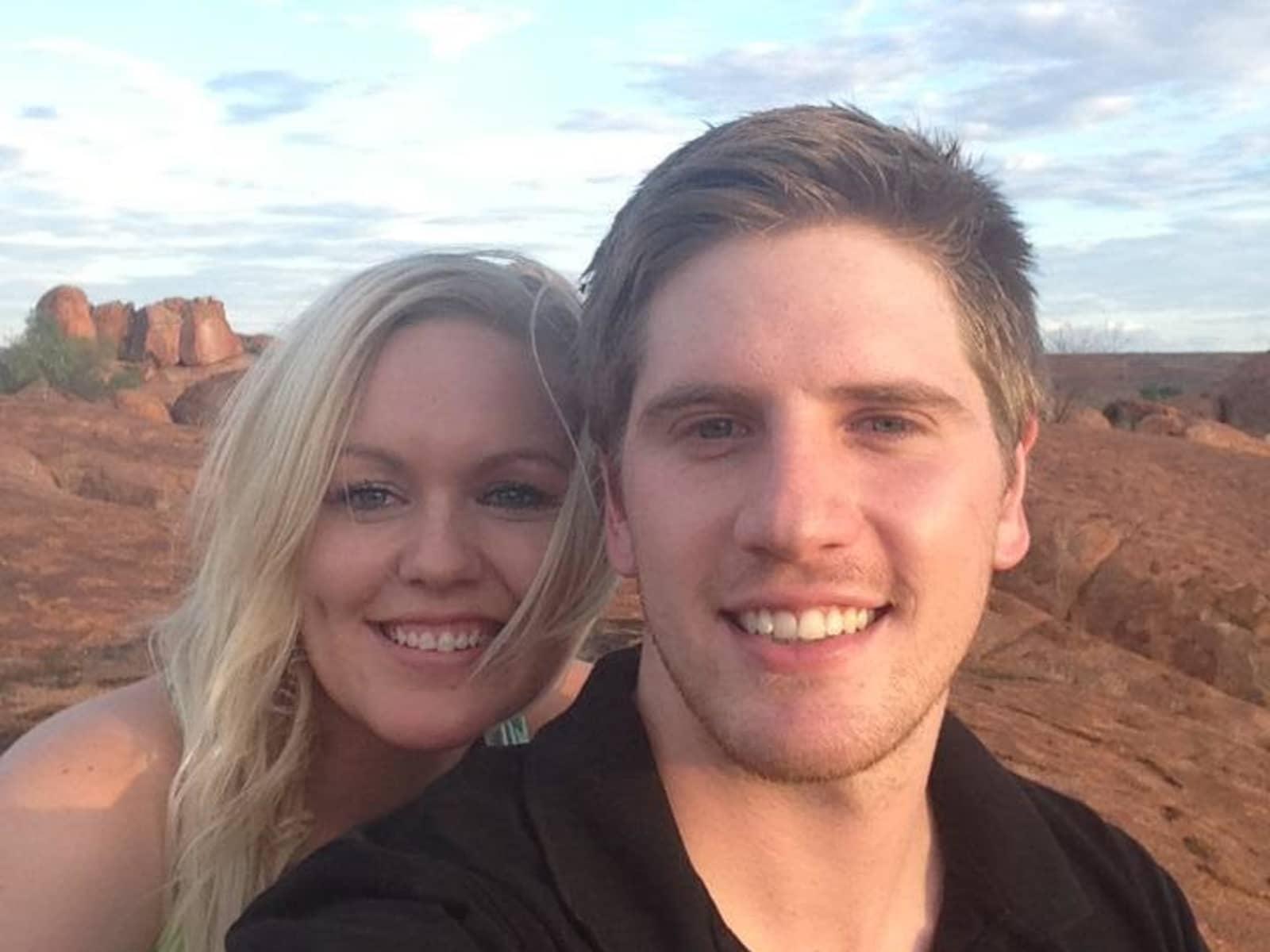 Rebecca & Callum from Melbourne, Victoria, Australia