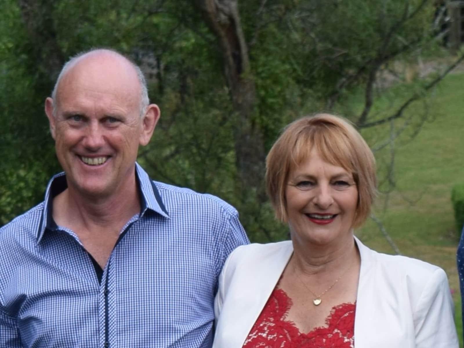Raylene & Keith from Lower Hutt, New Zealand