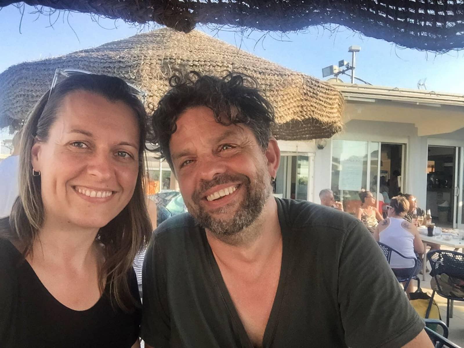 Sandra & Phaedro from Berlin, Germany