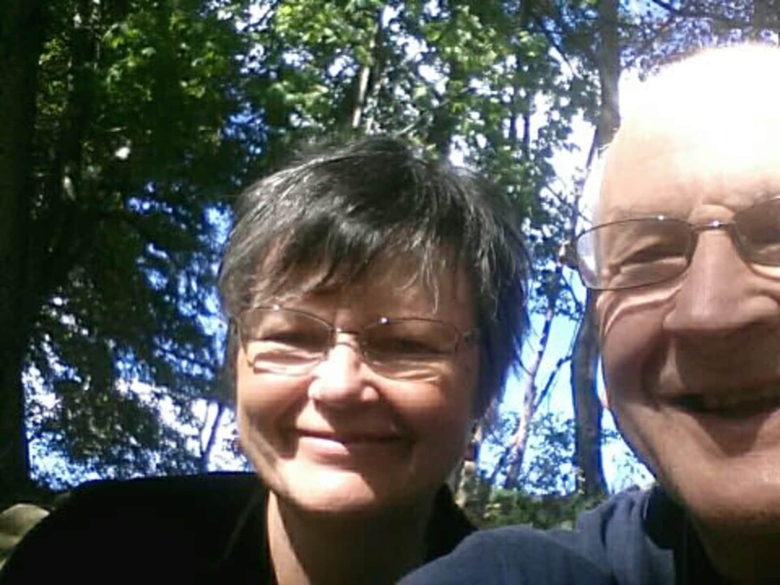 Rose & Pete from Antigonish, Nova Scotia, Canada