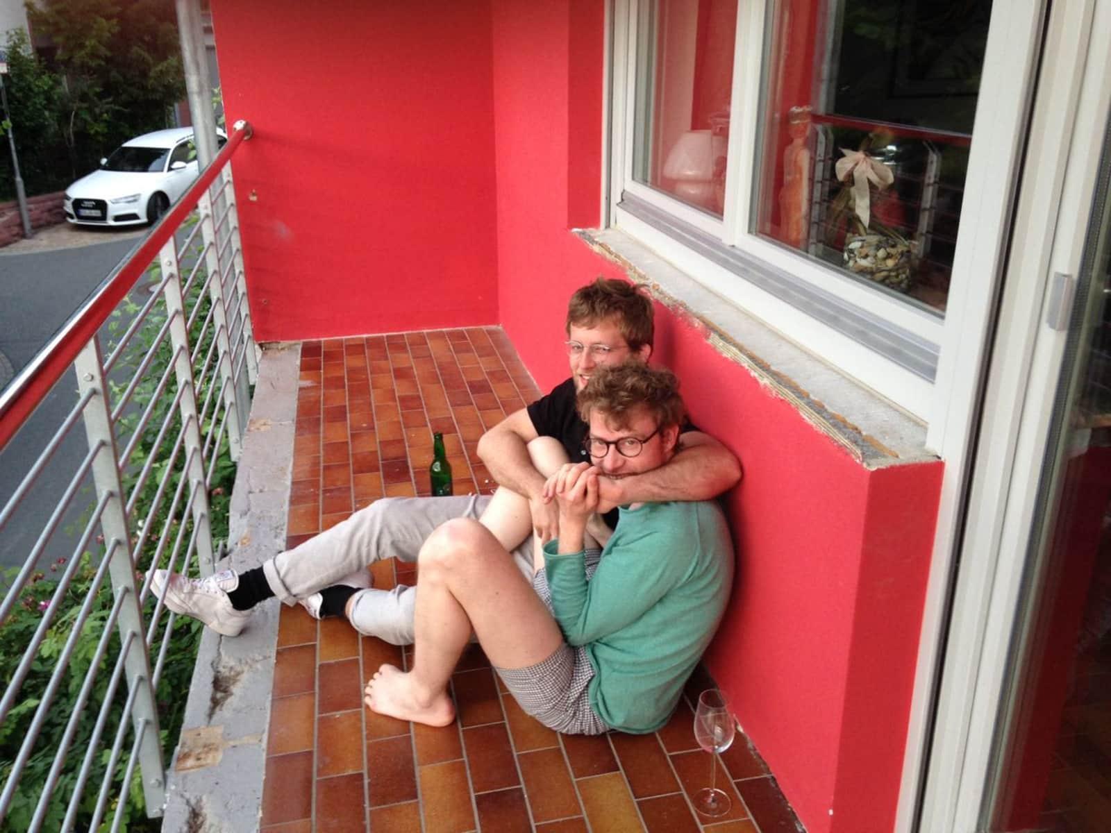 Maximilian & Felix from Hamburg, Germany