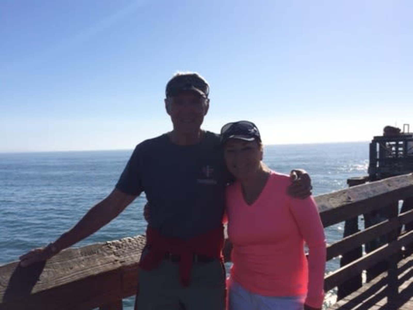 Susan & Mick from Cowichan Bay, British Columbia, Canada
