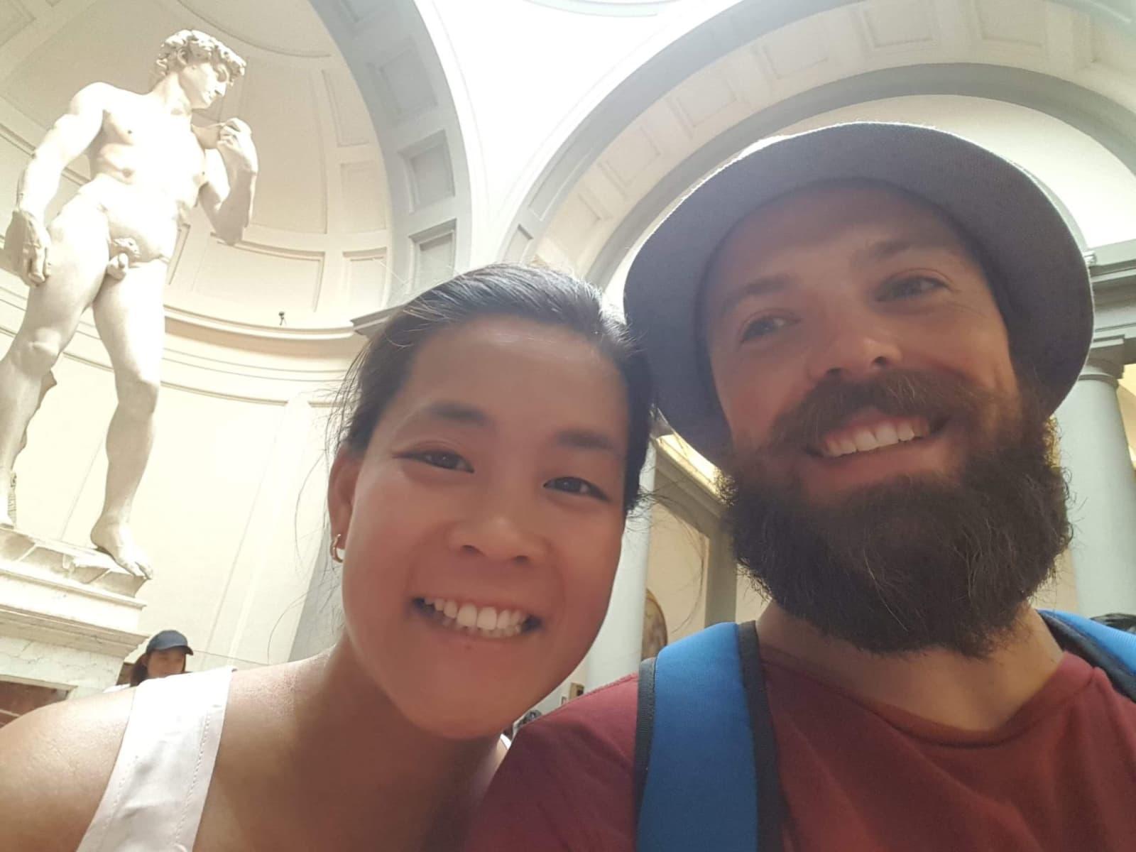 Darren & Steph from Melbourne, Victoria, Australia