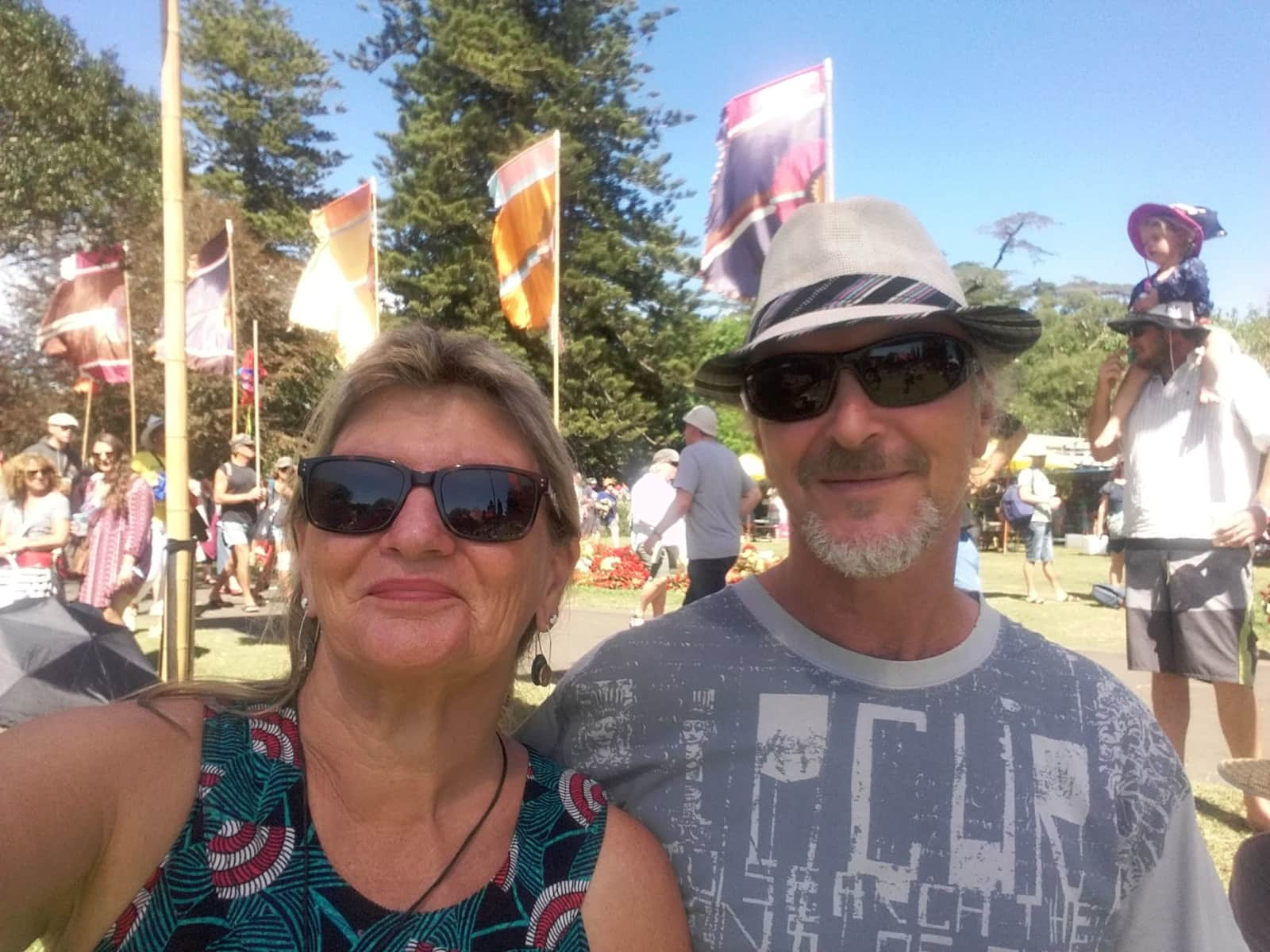Pauline & Grant from Kerikeri, New Zealand
