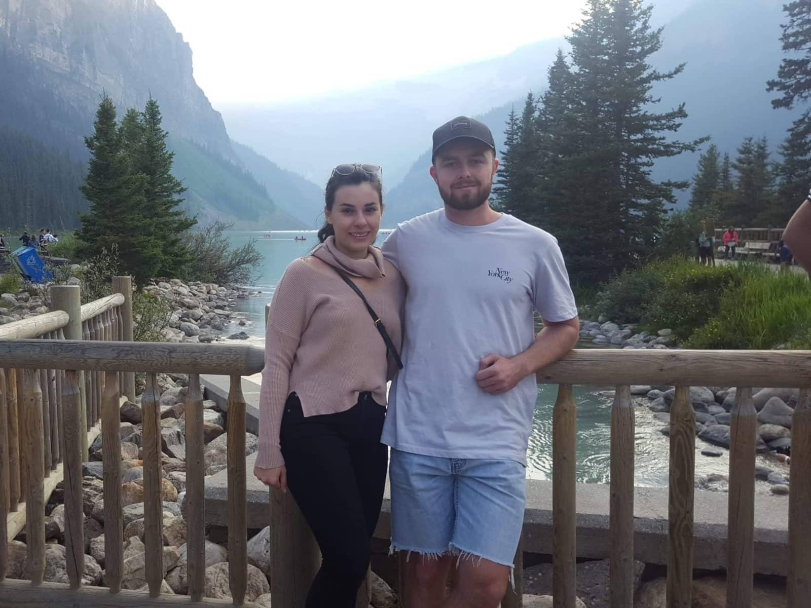 Taylor & Kieron from Toronto, Ontario, Canada