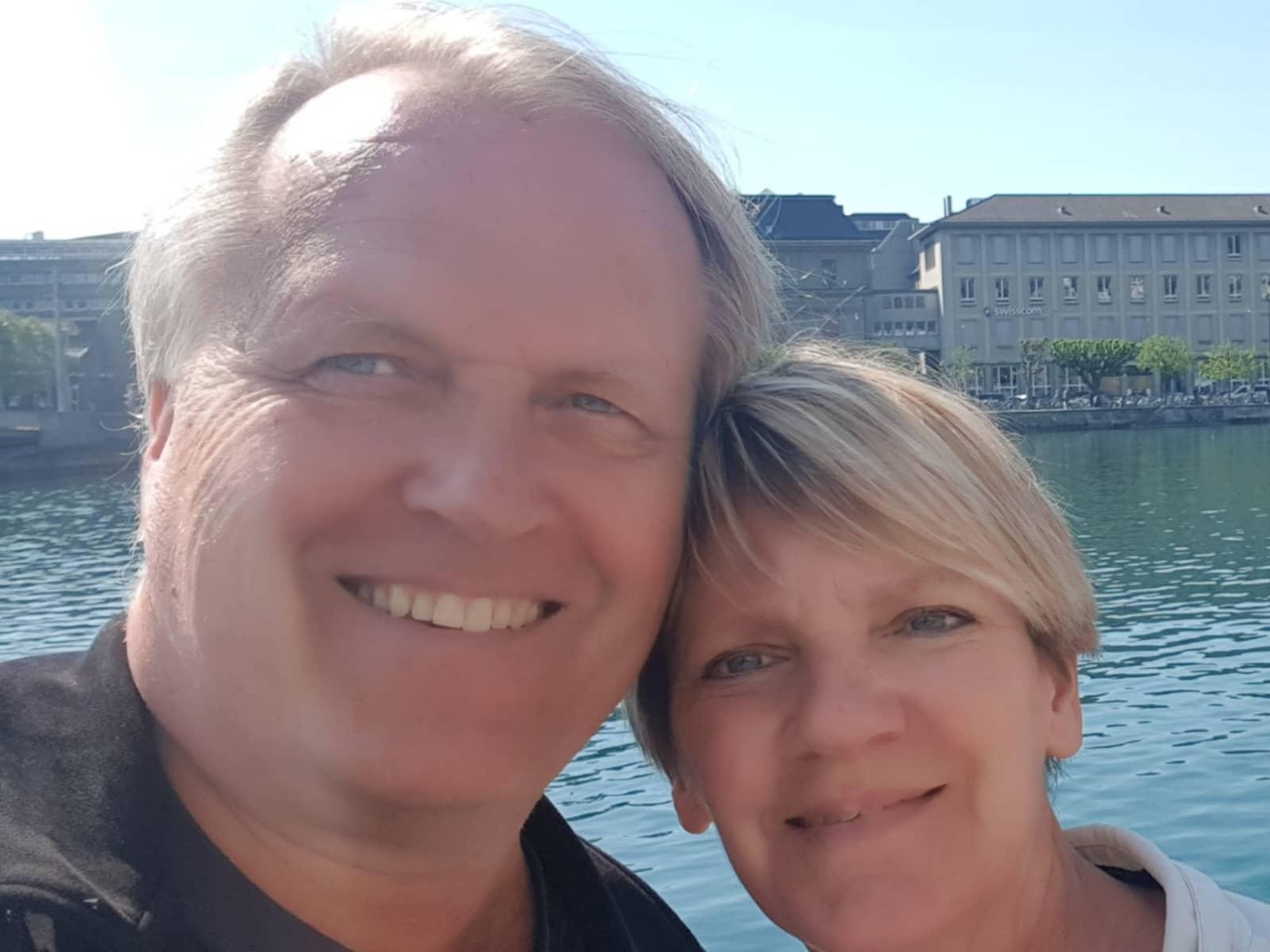 Birgit & Jorg from Vega de San Mateo, Spain