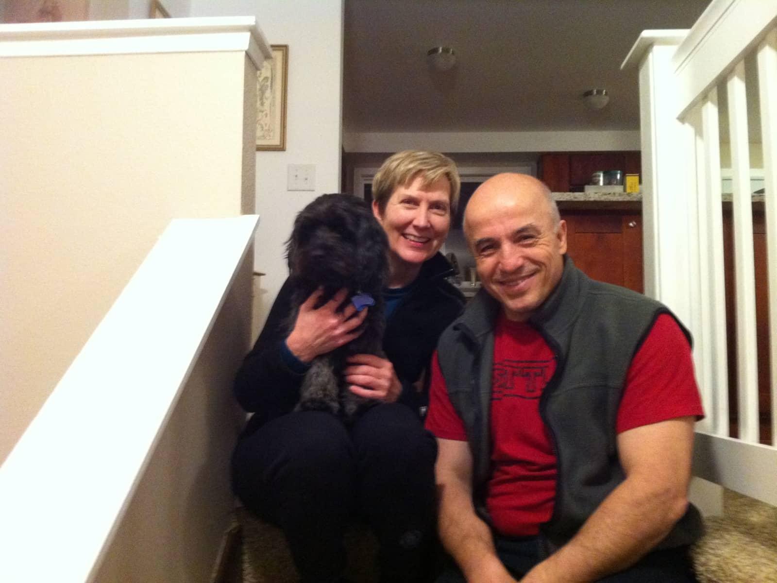 Nancy & Erden from Seattle, Washington, United States