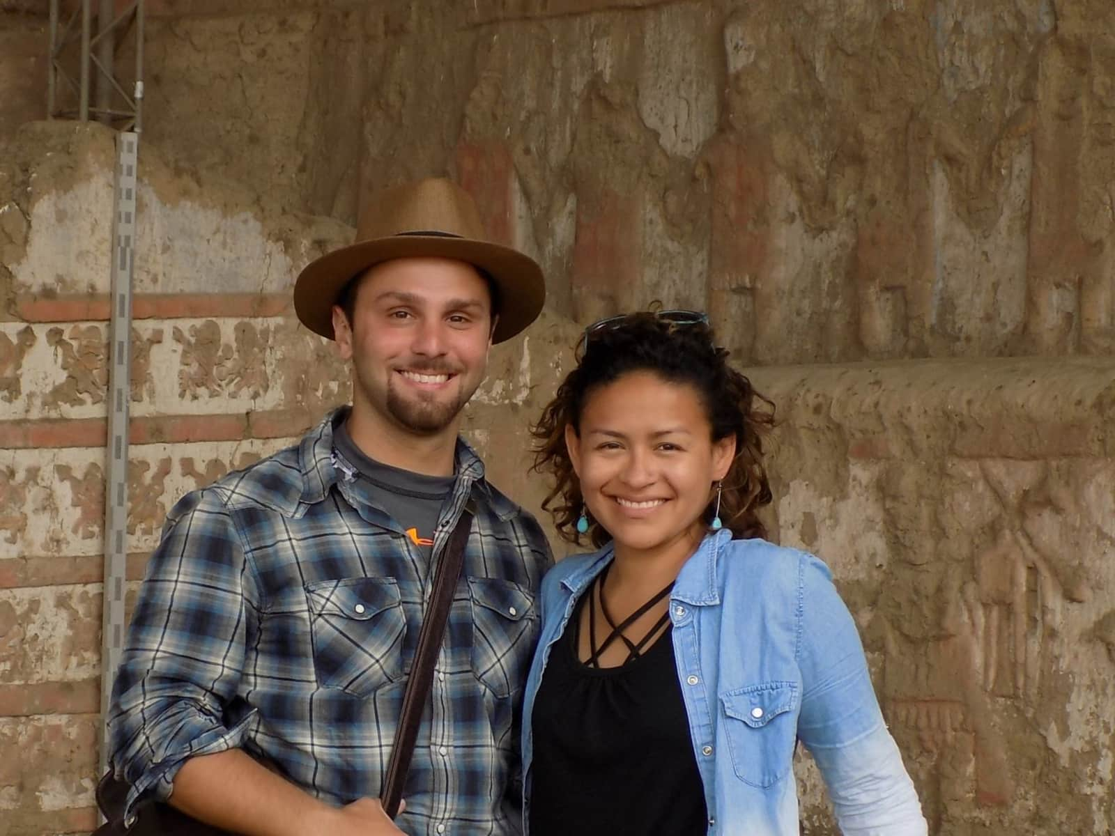 Joselin & Chris from Arequipa, Peru