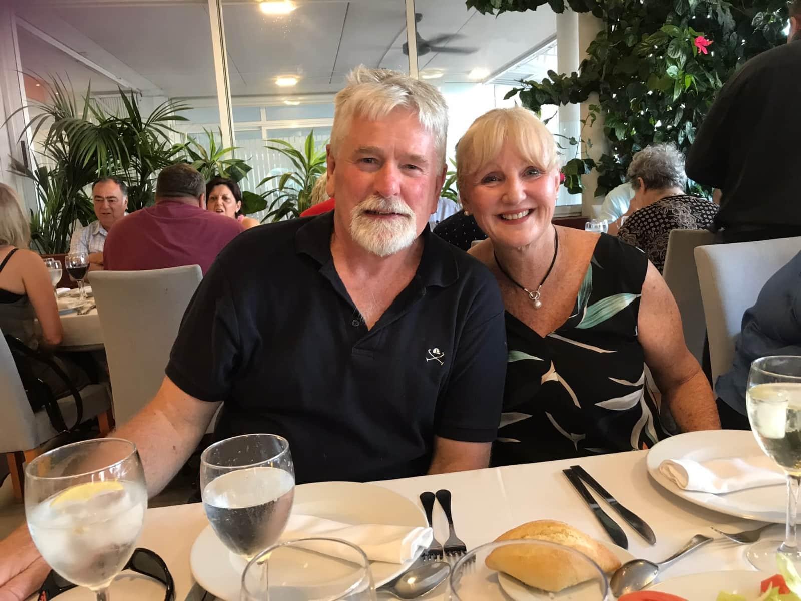 Sandra & Stephen from Sydney, New South Wales, Australia
