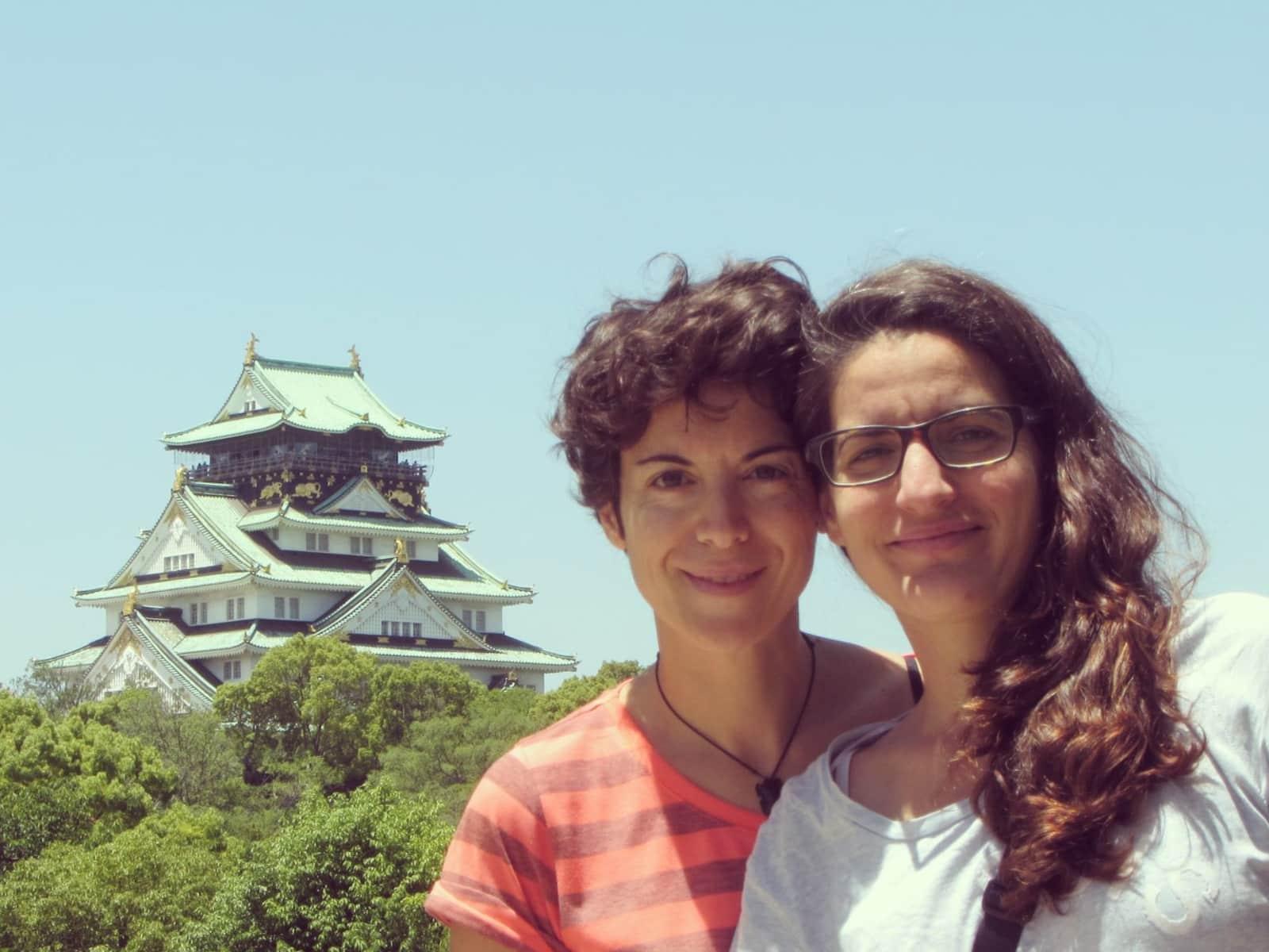 Cristina & Patri from Barcelona, Spain
