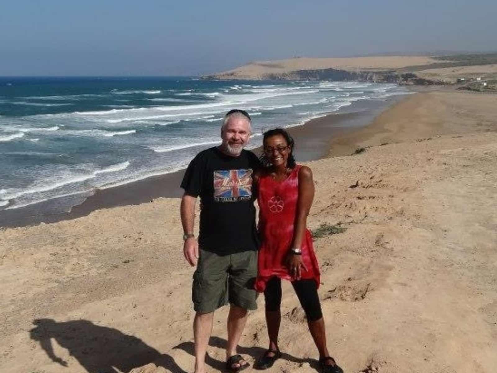 Greg & Naomi from Oliva, Spain