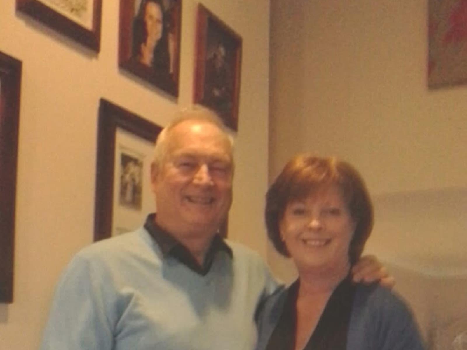 Janice & Brian from Hobart, Tasmania, Australia