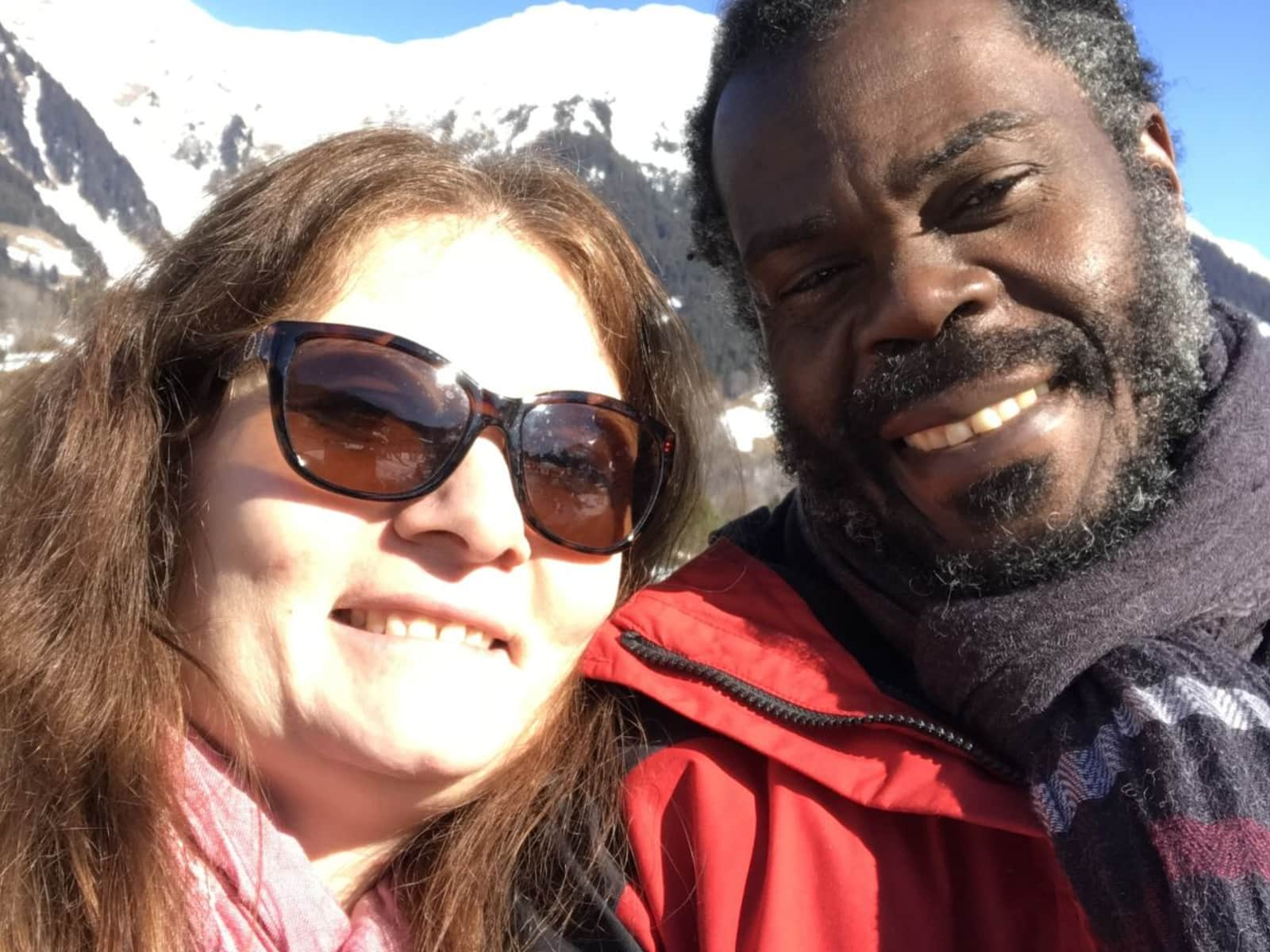 Barbara & Anthony from Wettingen, Switzerland