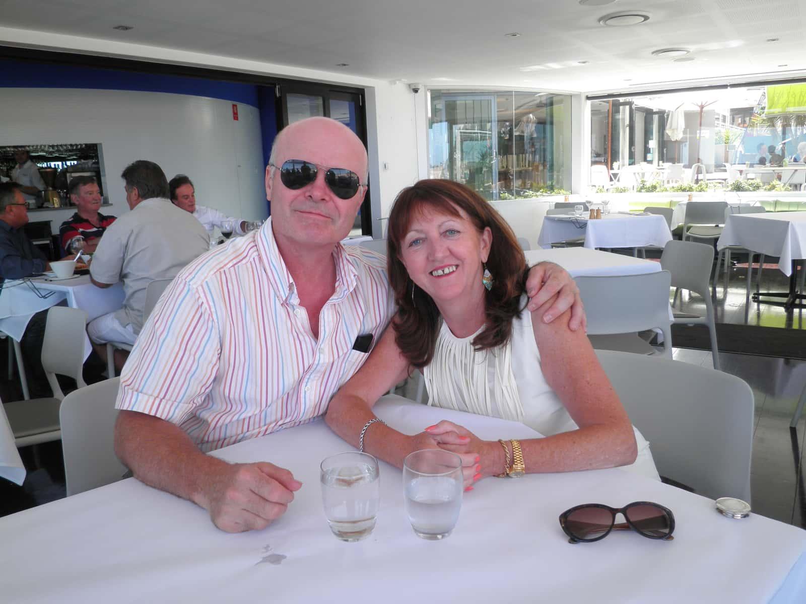 Paul & Margaret from Málaga, Spain