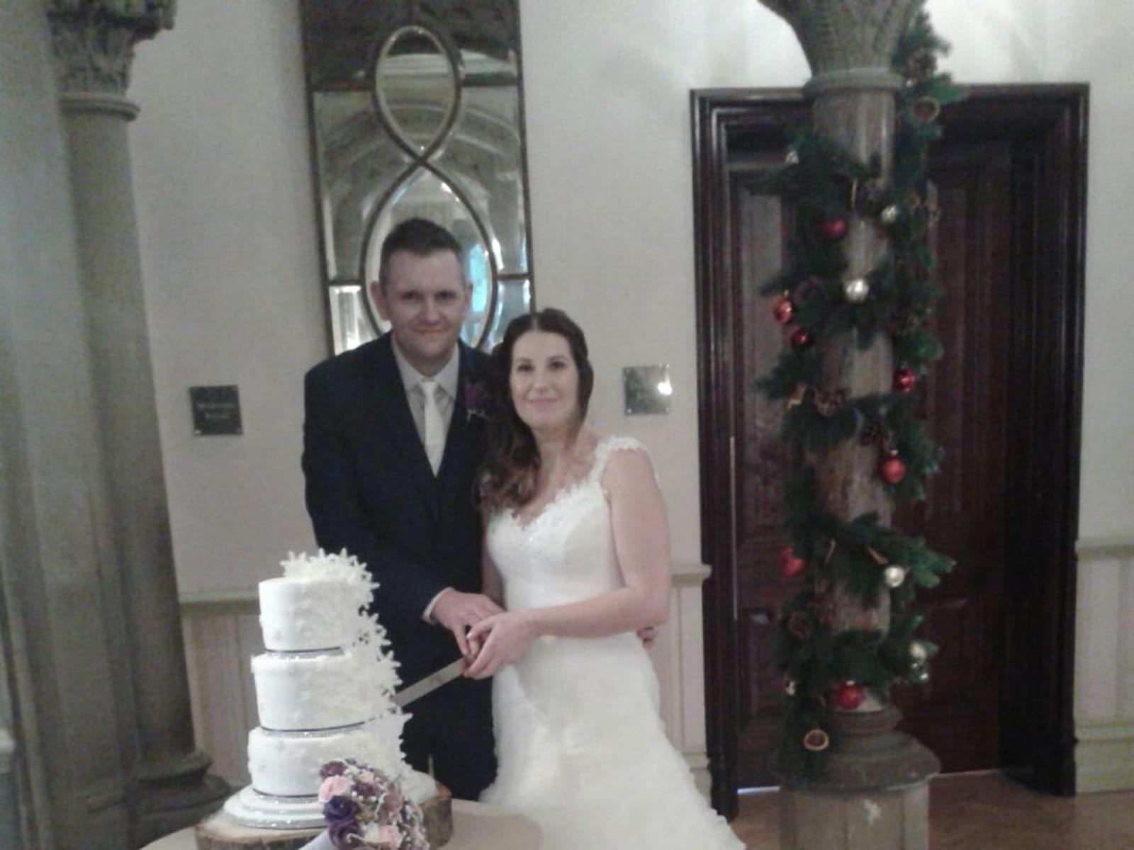 Debbie & Richard from Crook, United Kingdom