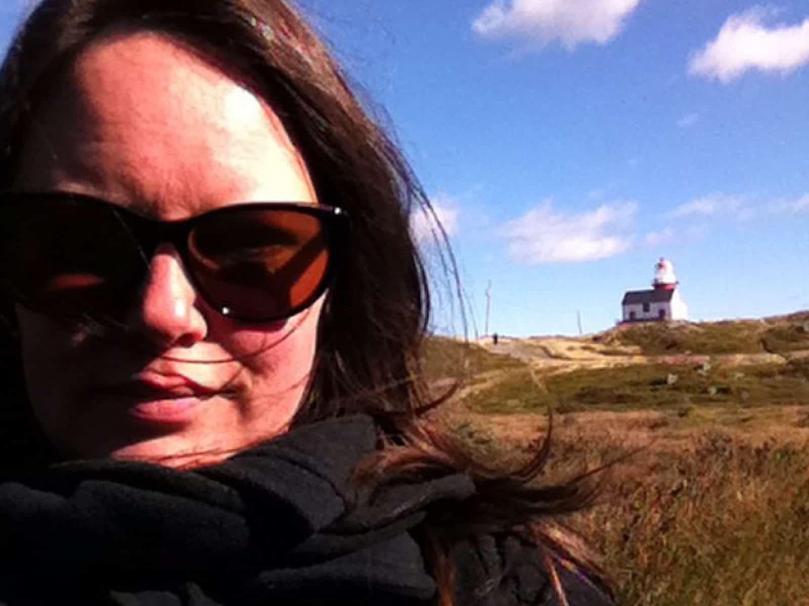 Melanie from St. John's, Newfoundland and Labrador, Canada