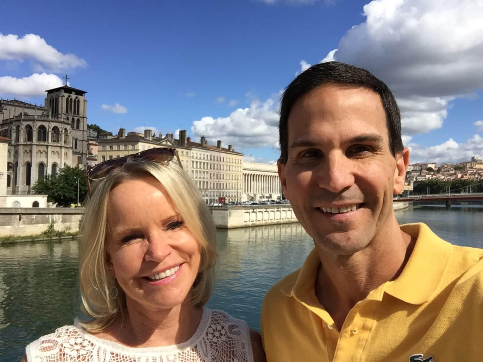 Nancy & Phil from Lyon, France