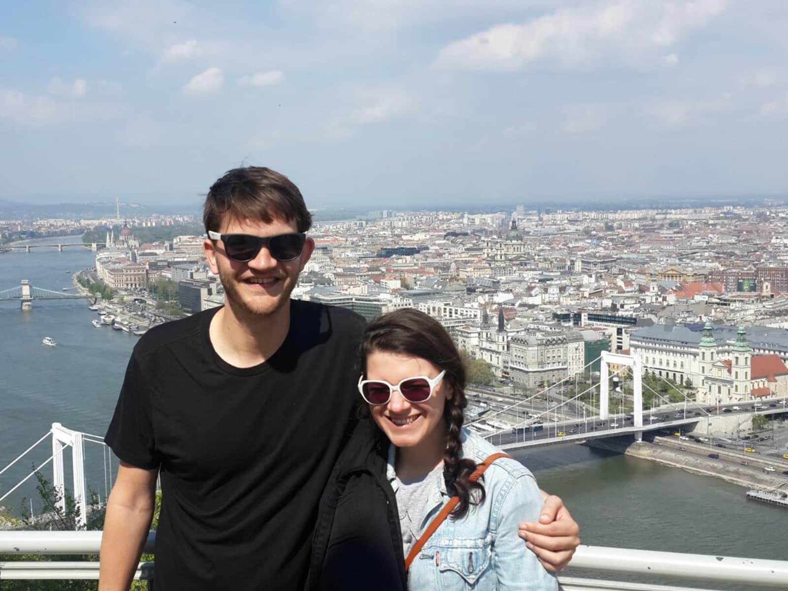 Solène & David from Avignon, France