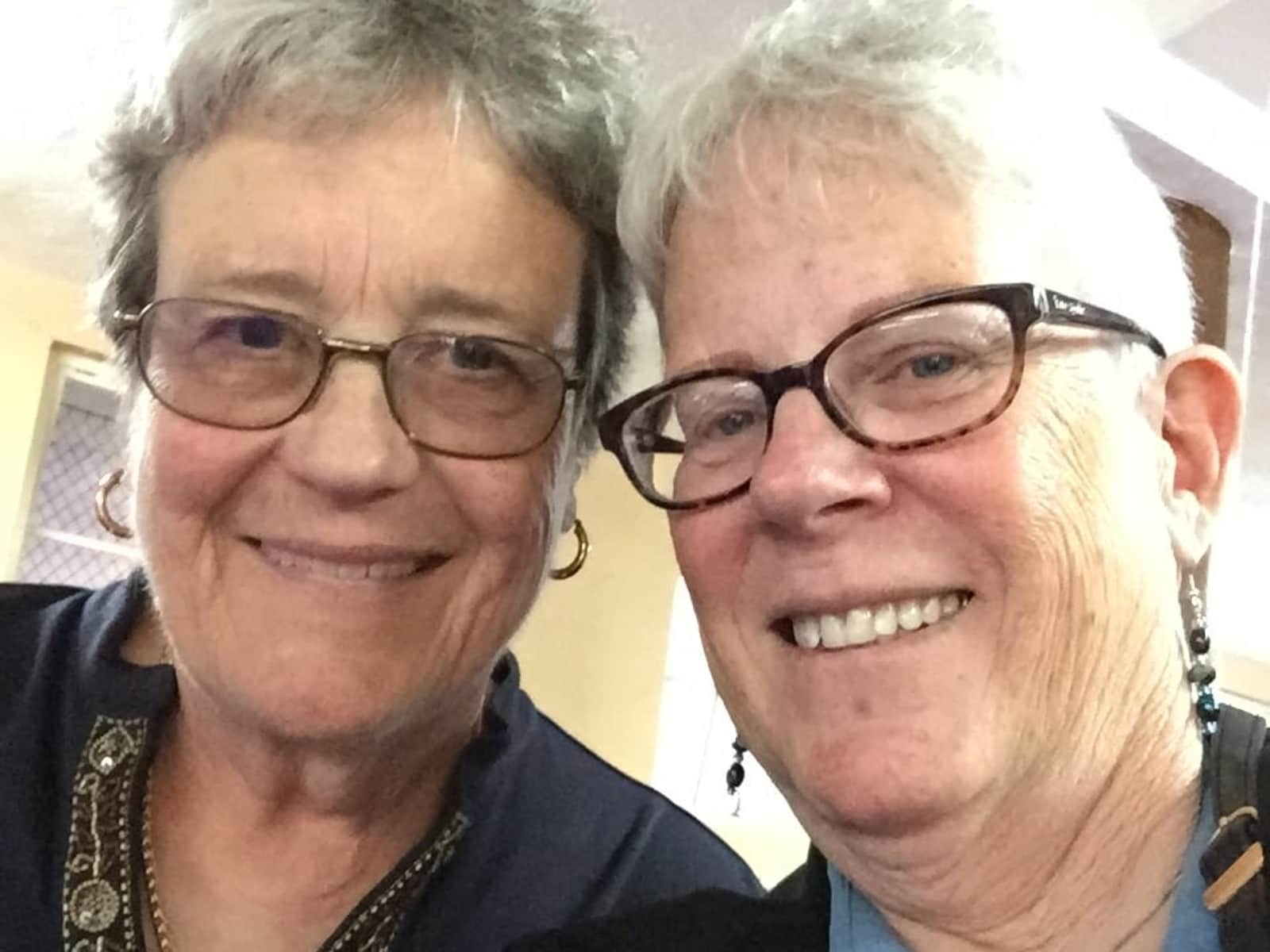Pamela & Margaret from Berkeley, California, United States
