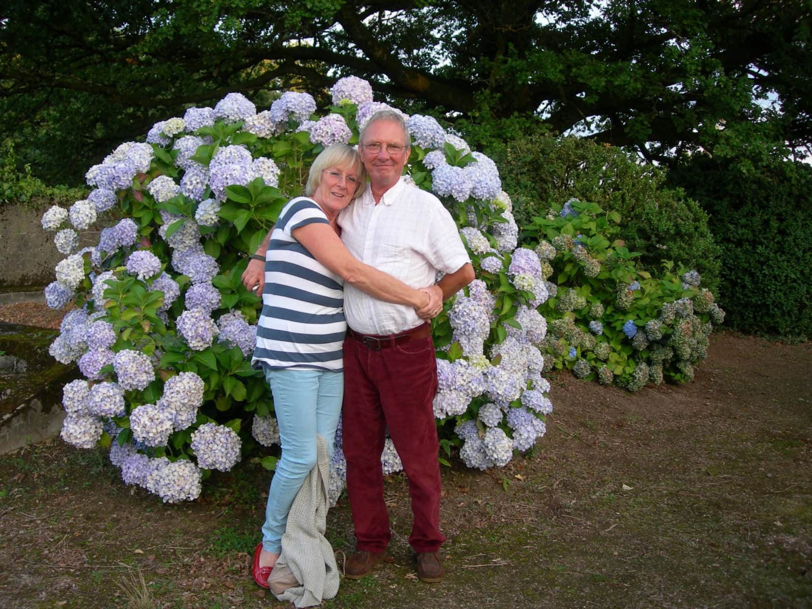 Muriel & Mike from Leicester, United Kingdom
