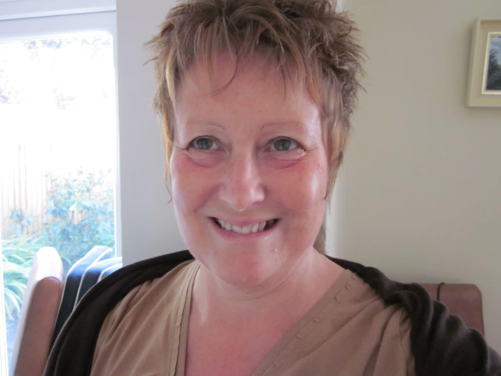 Susie from Swindon, United Kingdom