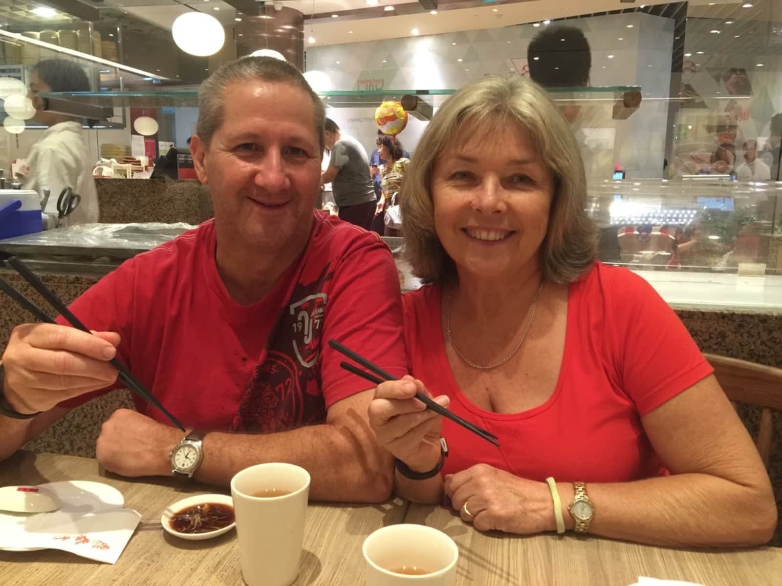 Kathy & Steve from Cooroy, Queensland, Australia