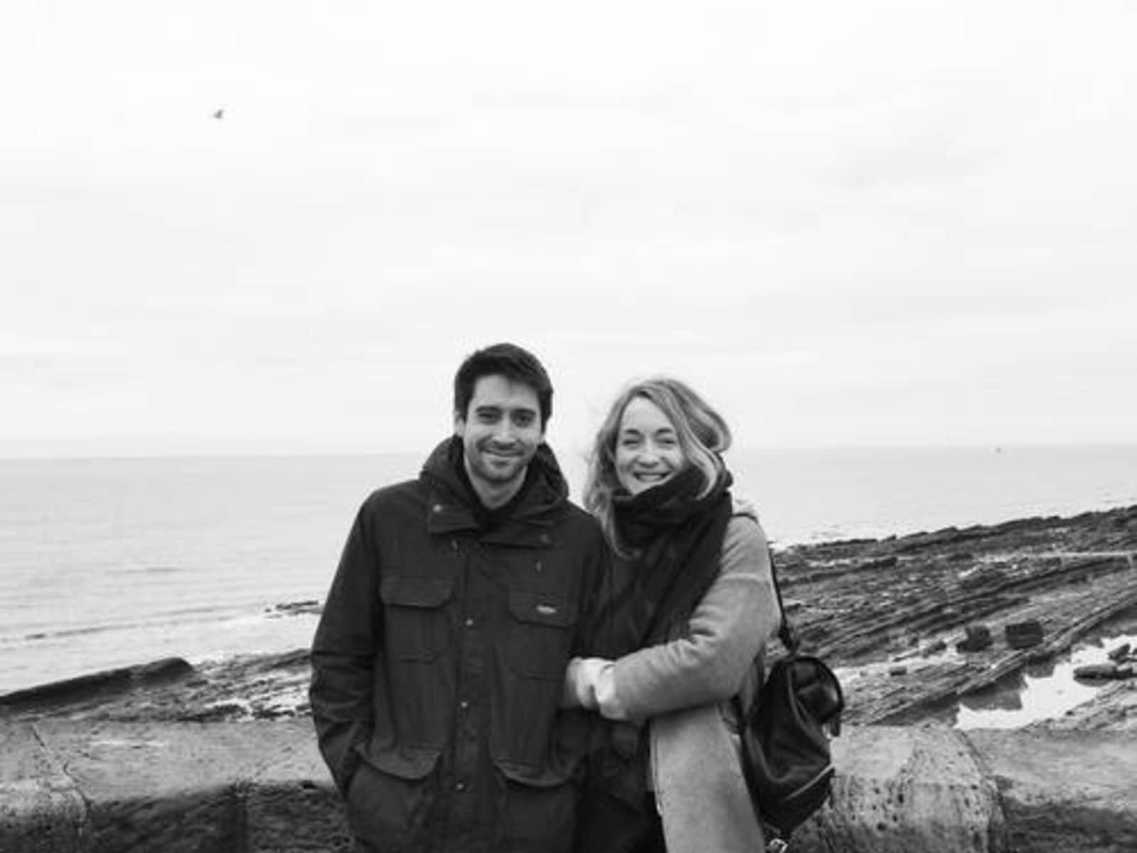 Sarah & Nick from Brighton, United Kingdom