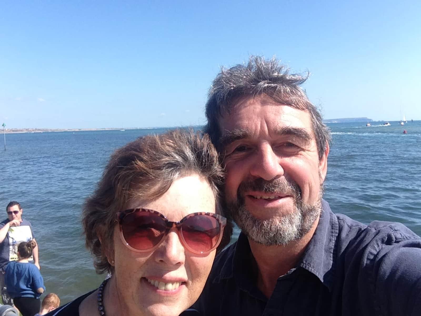 Christine & Richard from Petersfield, United Kingdom