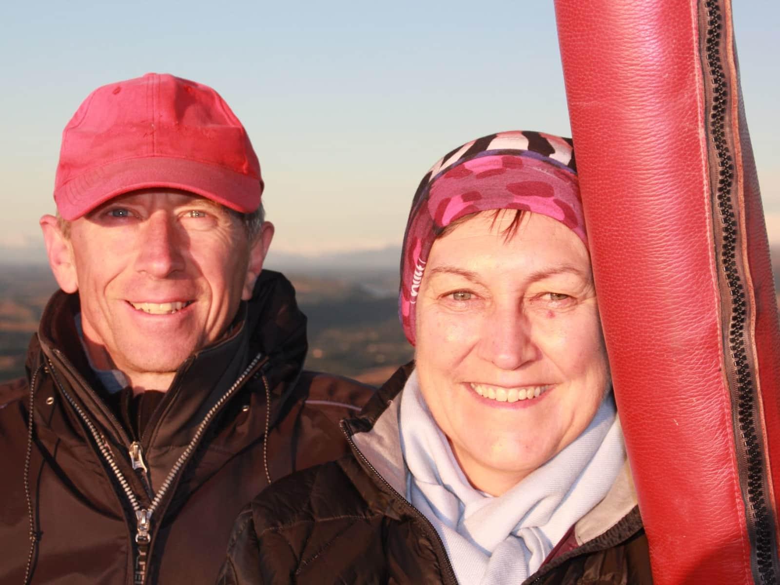 Bozena & Rick from Wanganui, New Zealand