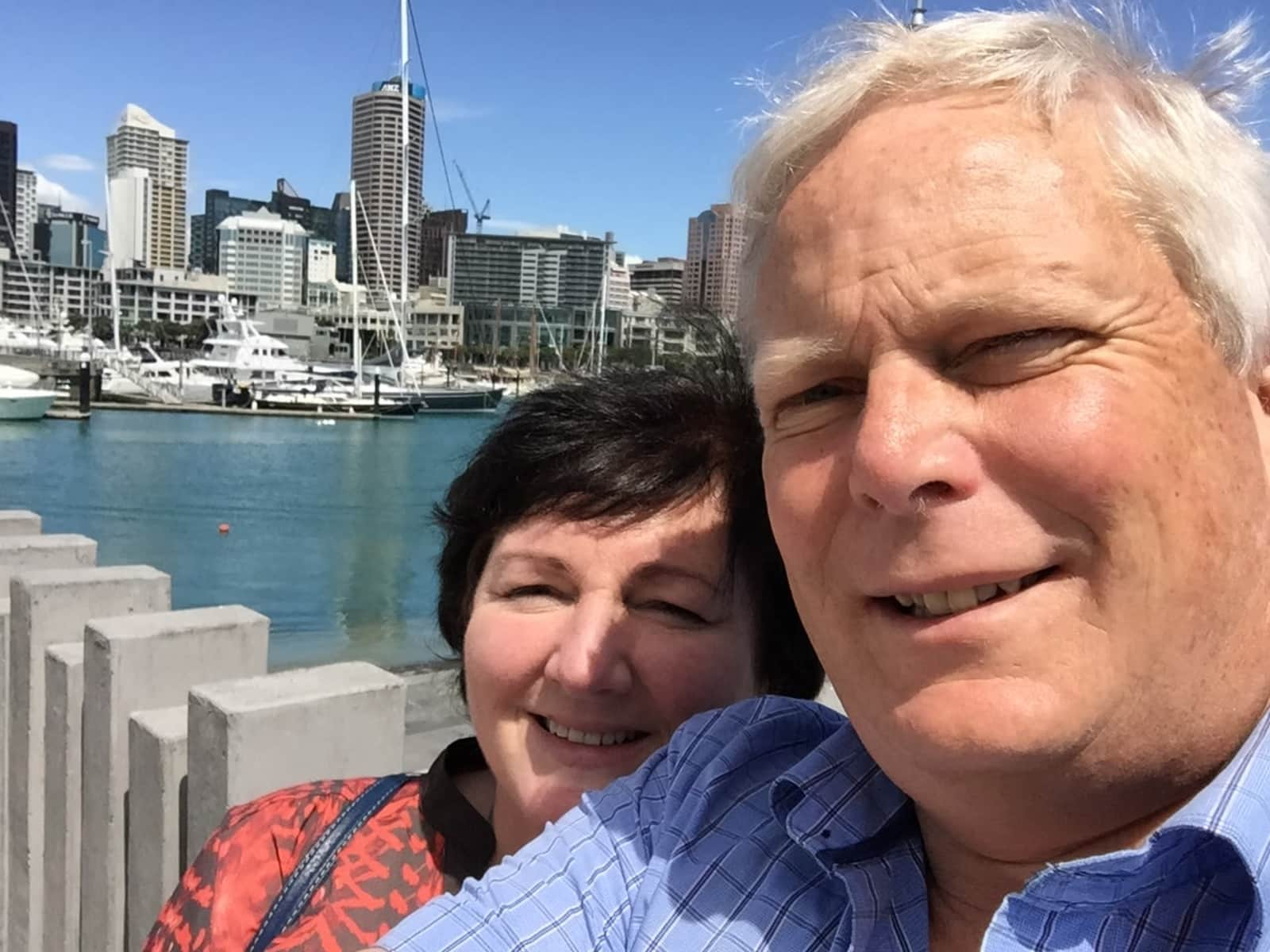 Gail & Grant from Tauranga, New Zealand