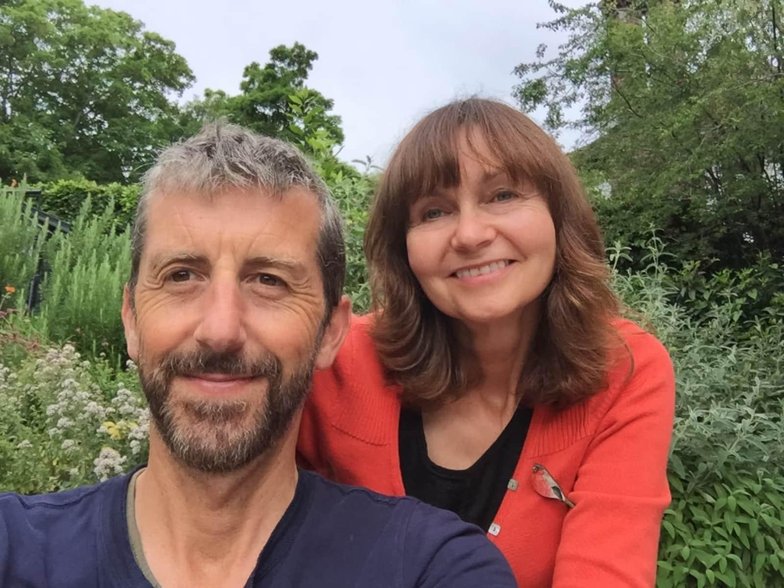 Caroline & Rick from Brighton, United Kingdom