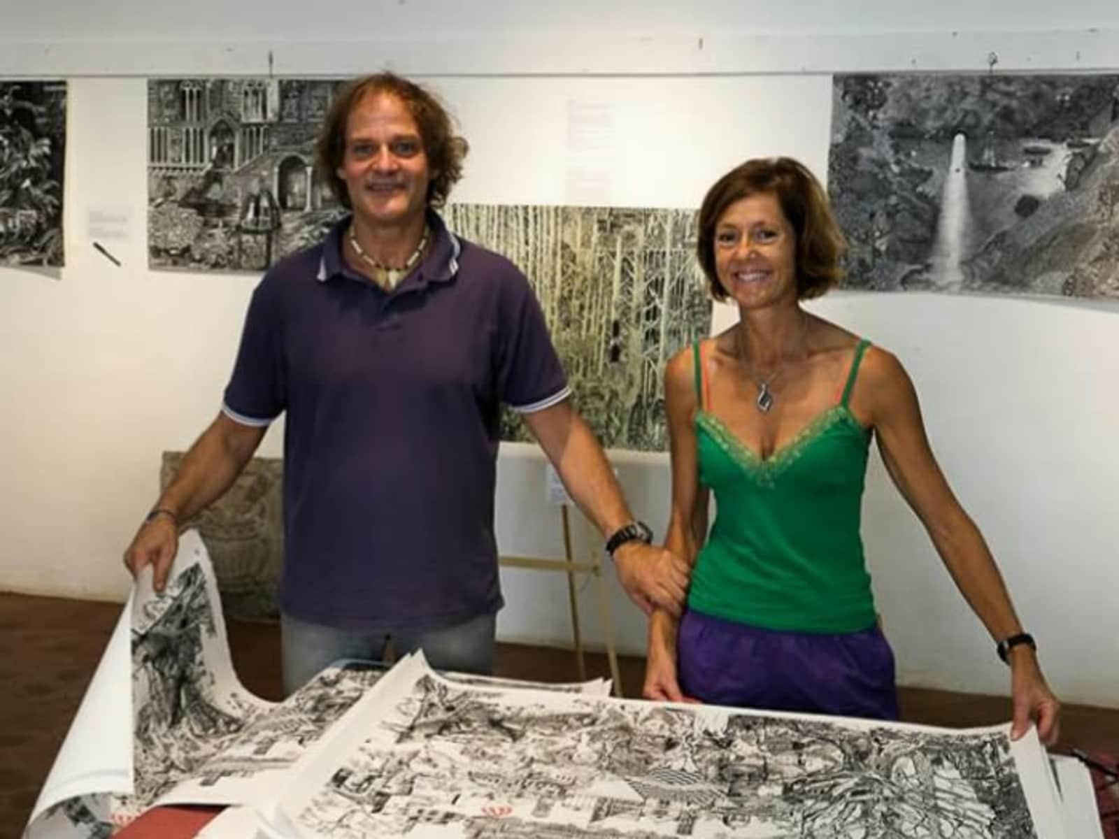 Kate & Luigi from Arezzo, Italy