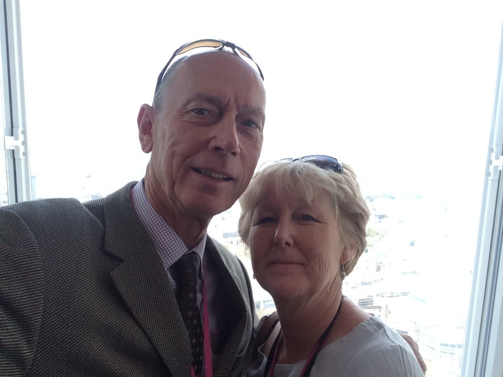 Stephen & Deirdre from Milton Keynes, United Kingdom