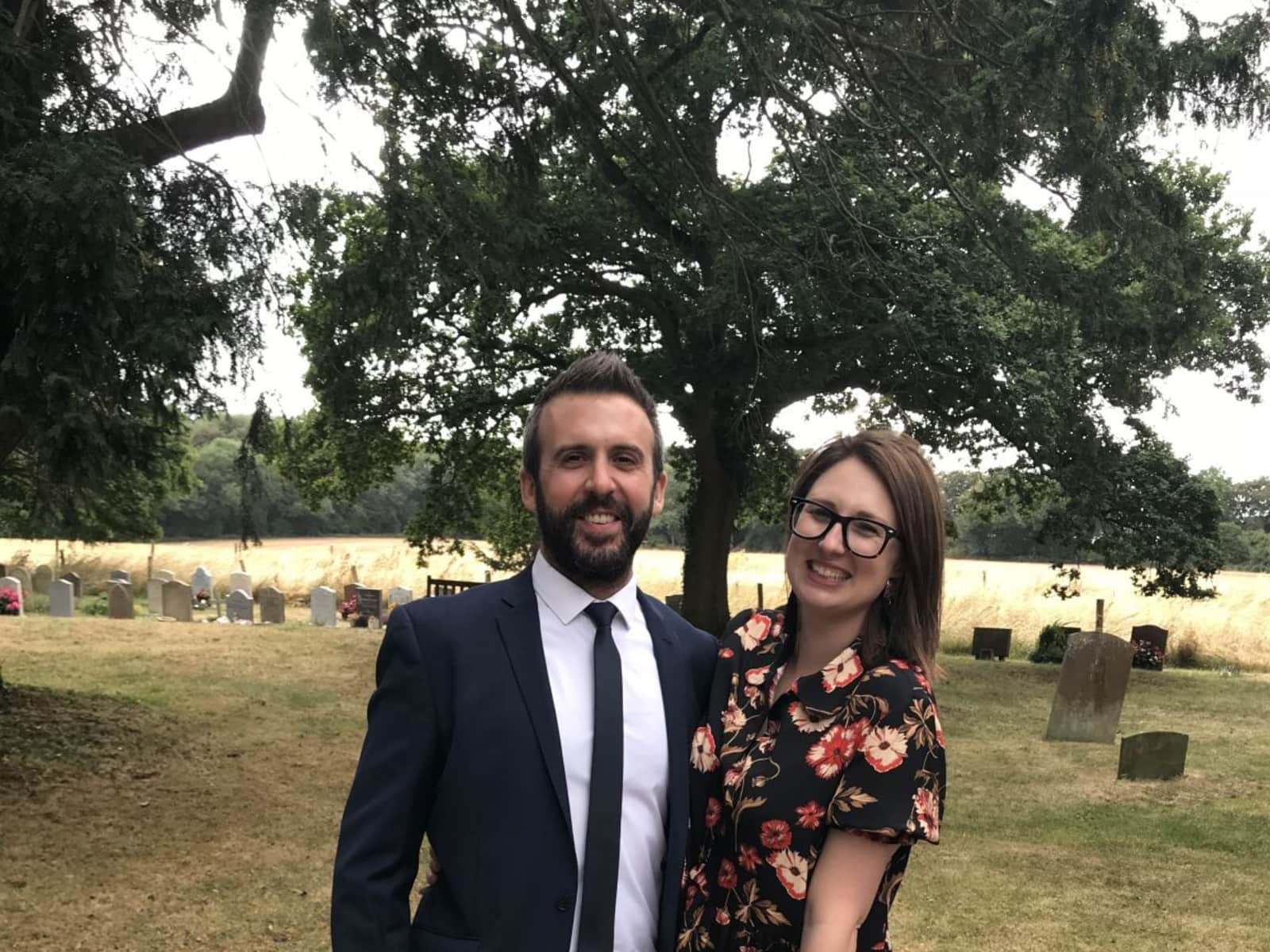 Katie & James from Auckland, New Zealand